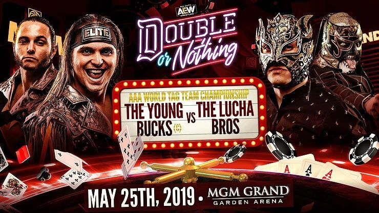 AEW Double or Nothing preview: The Young Bucks vs. The Lucha Bros