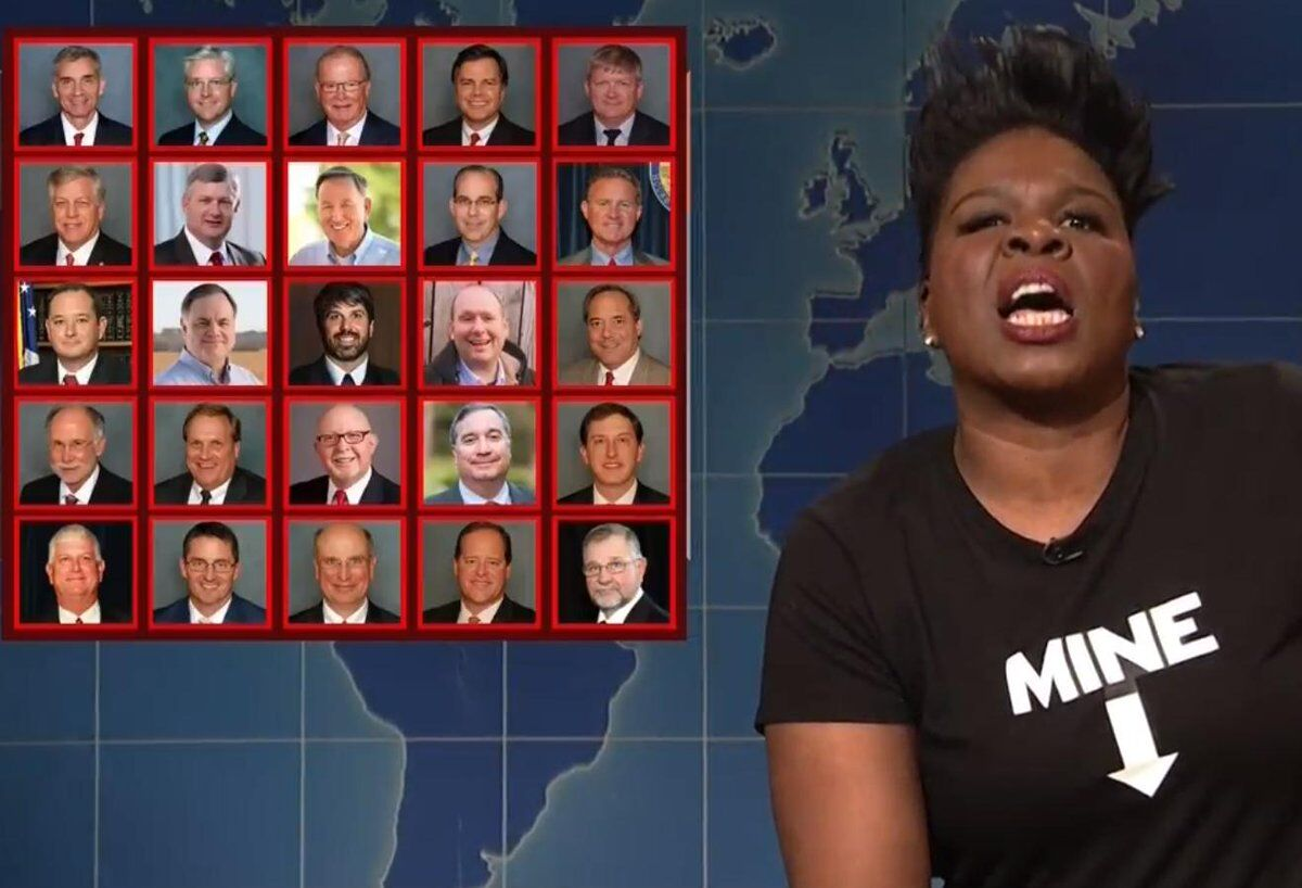 Leslie Jones went scorched earth on the anti-abortion laws