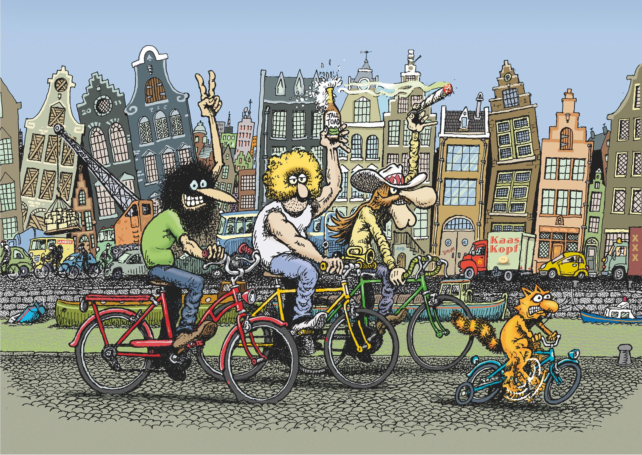 The Fabulous Furry Freak Brothers is (finally) getting an animated series