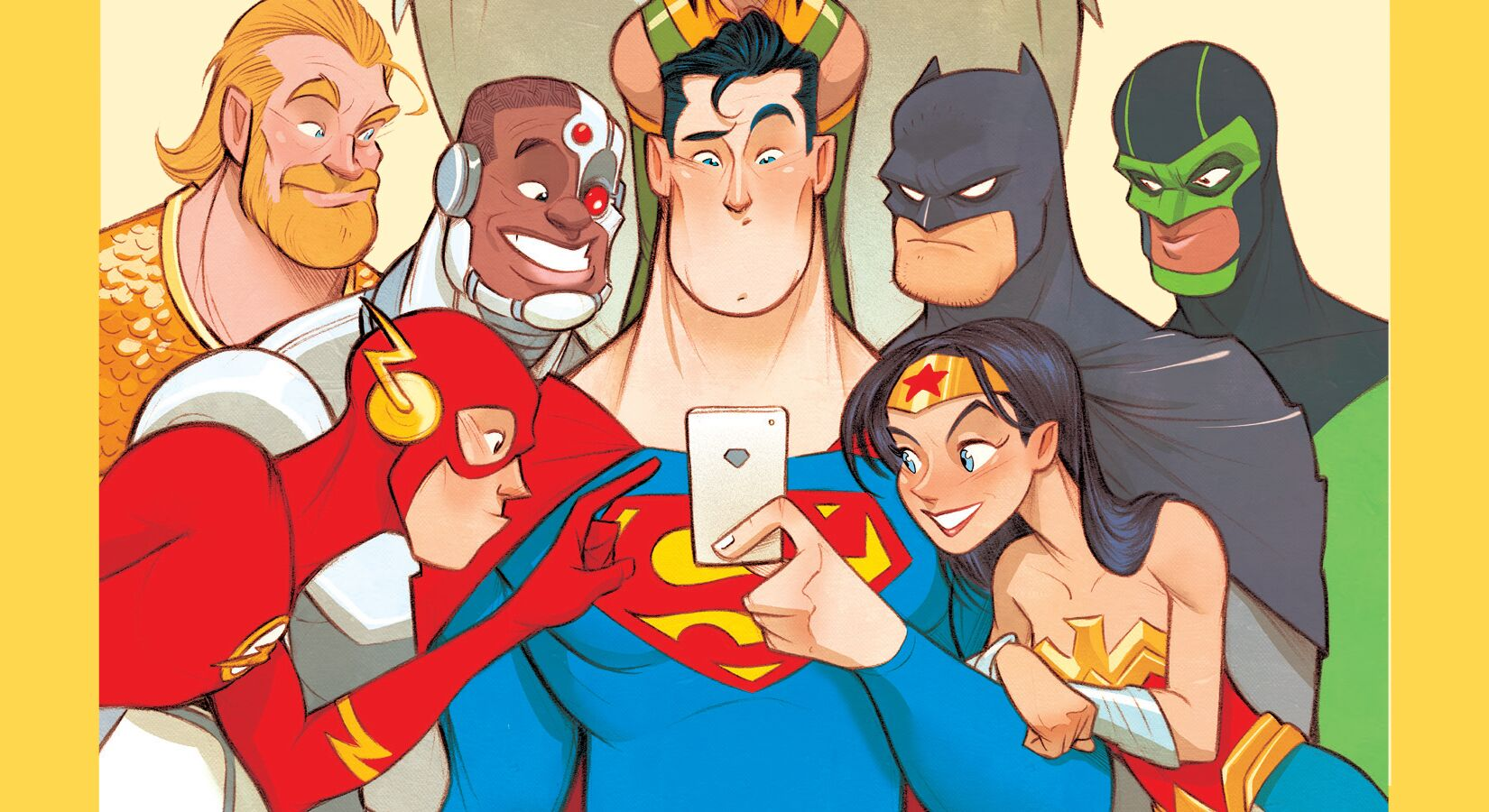 Dear Justice League is a perfect back-to-school story