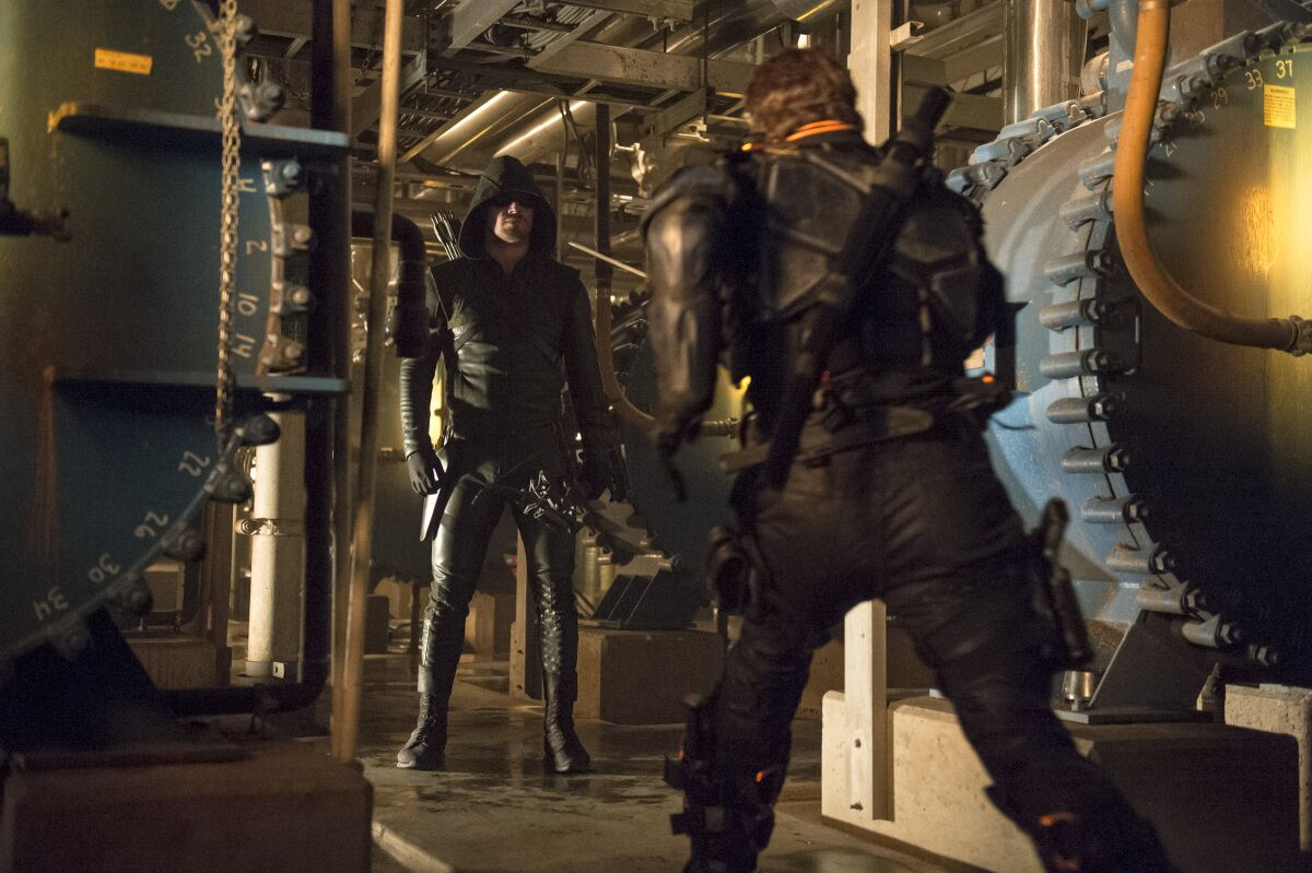 Arrow's best villain almost had a very different storyline
