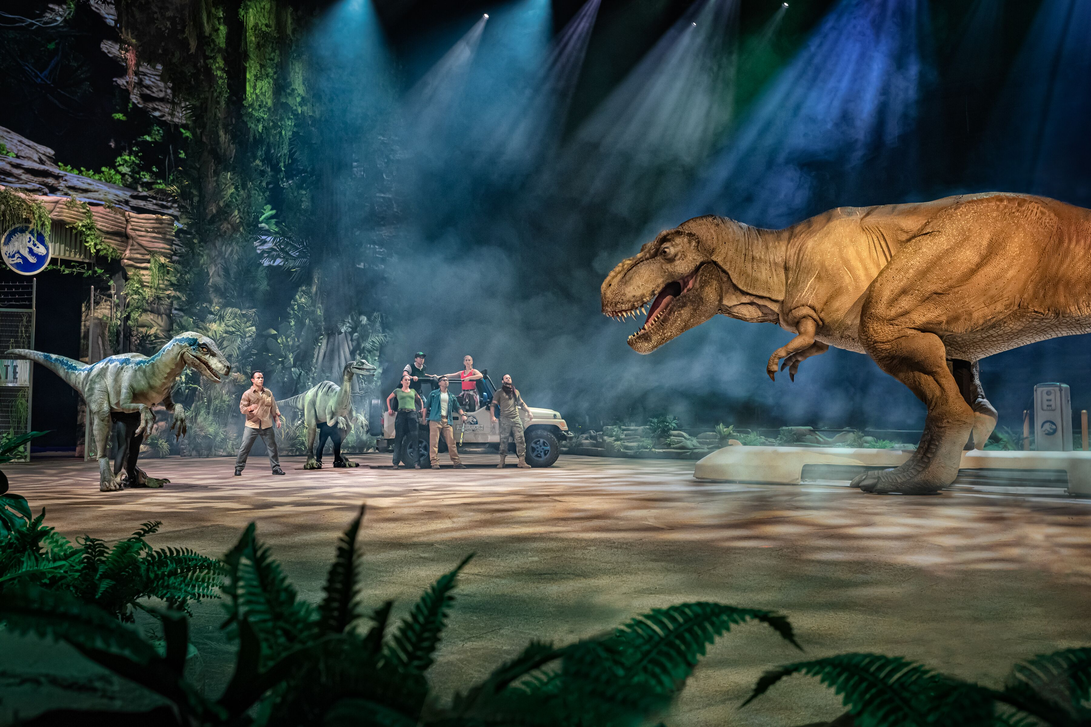Jurassic World Live Tour is a spectacle that brings the magic of the movies to life