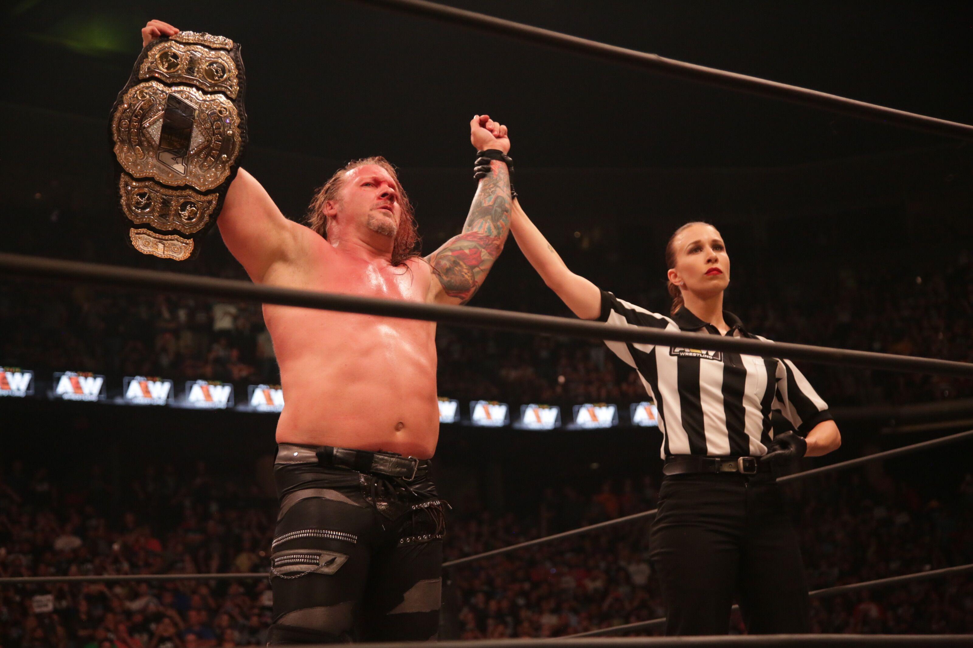 Chris Jericho's missing AEW World Championship title found