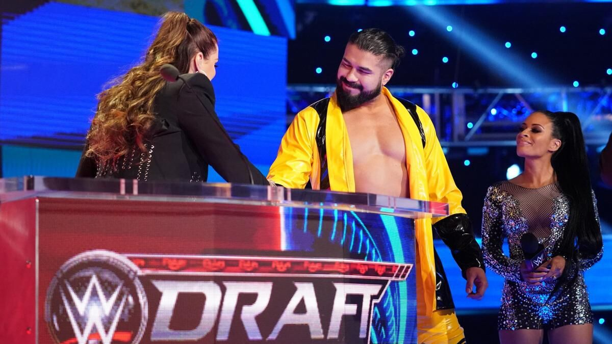 WWE dream matches made possible by the draft