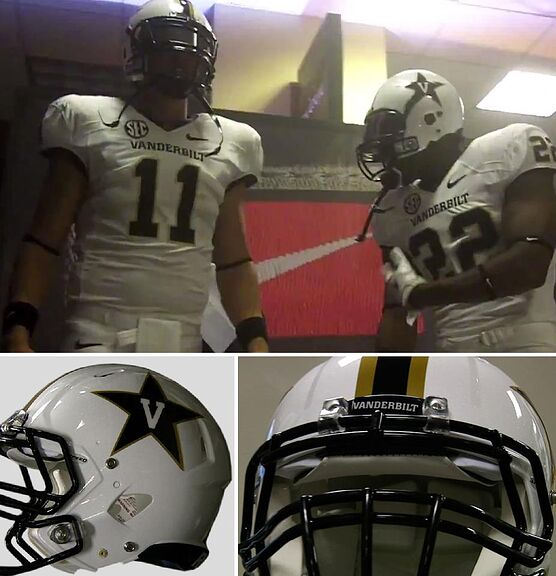 Vanderbilt Football Unveils New Uniforms For 2012 984dfceee