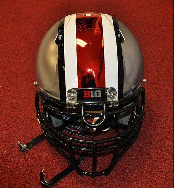 Will Ohio State wear their  rivarly  uniform with chrome helmets ... f8d124d84