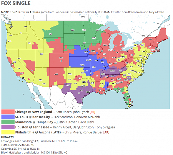 Nfl tv schedule and coverage map week 7 screen shot 2014 10 26 at 80806 am publicscrutiny Image collections