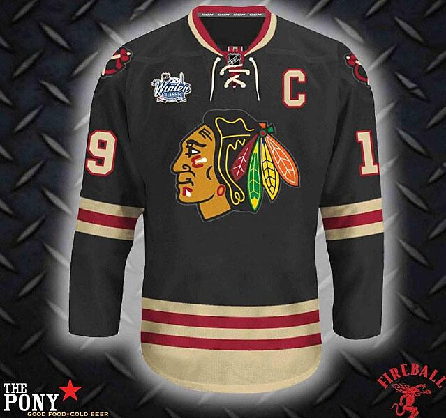 efe5333d2 Chicago Blackhawks Winter Classic Jersey Confirmed As Fake