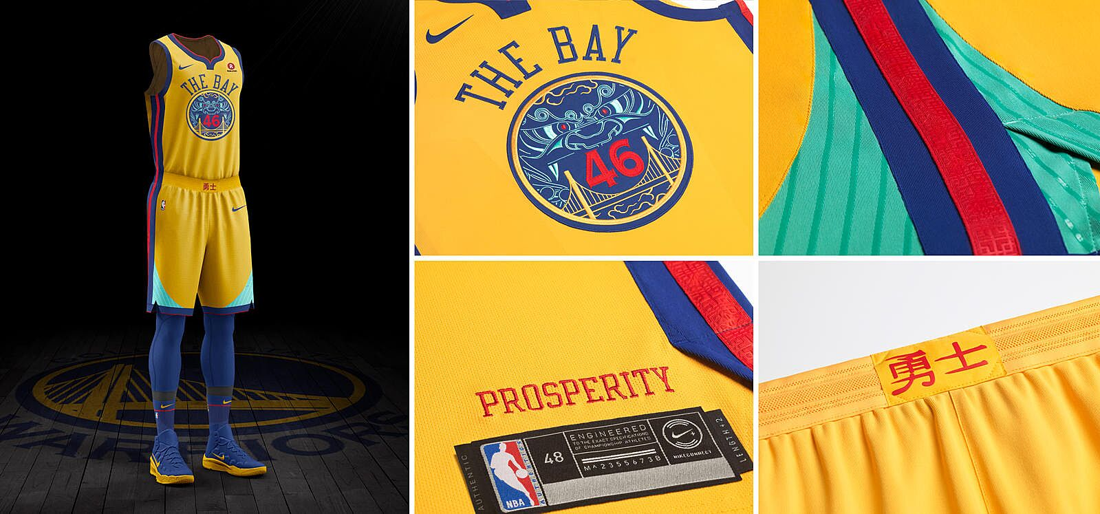 22de5af534b Nike releases dope NBA City edition uniforms