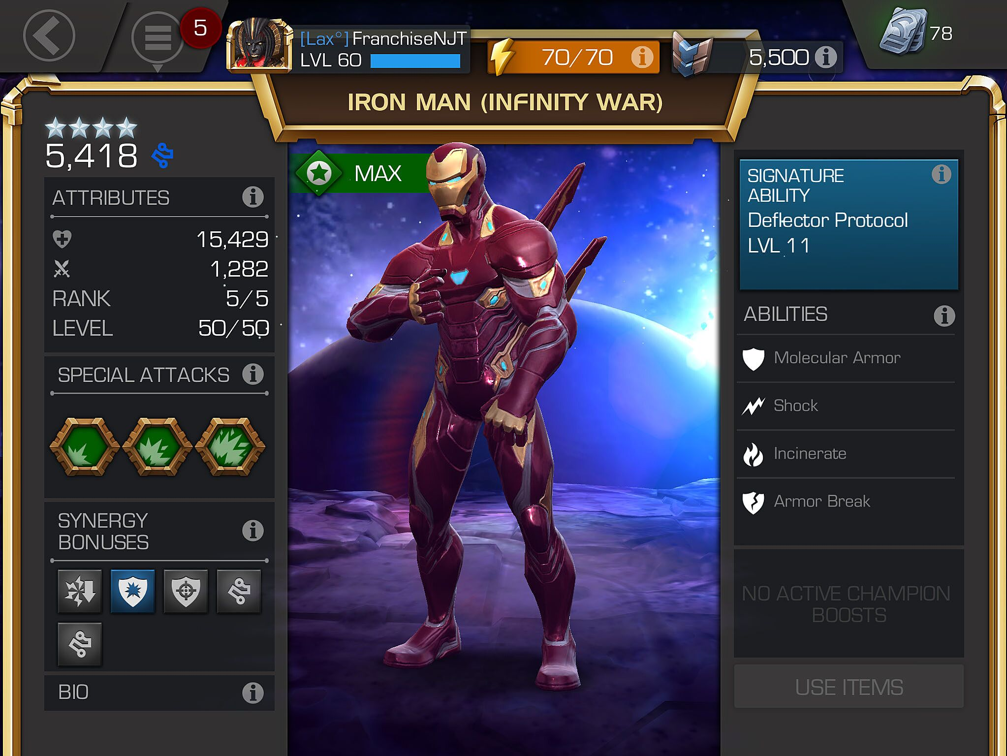 Infinity War Iron Man arrives in Marvel Contest of Champions