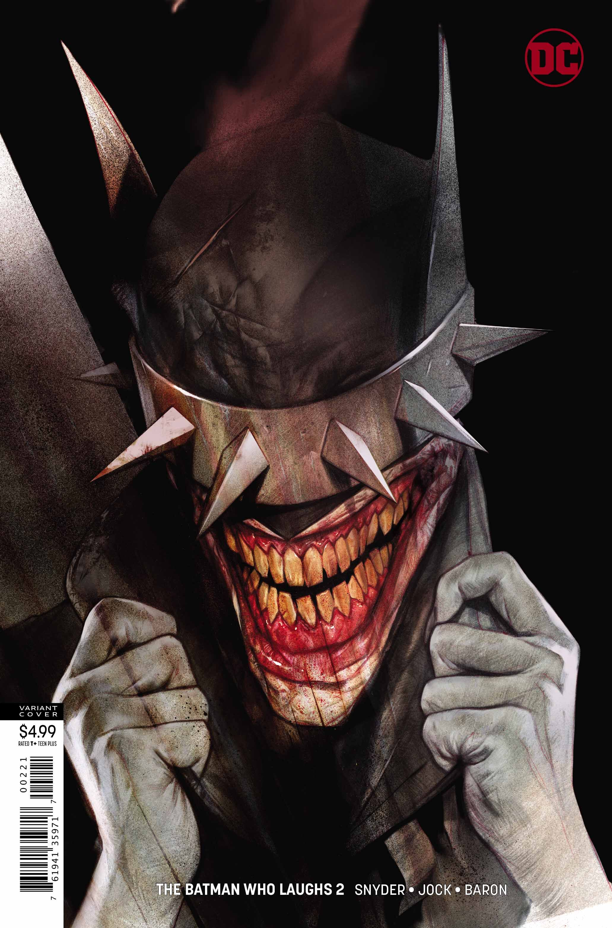 The Batman Who Laughs #2 variant cover