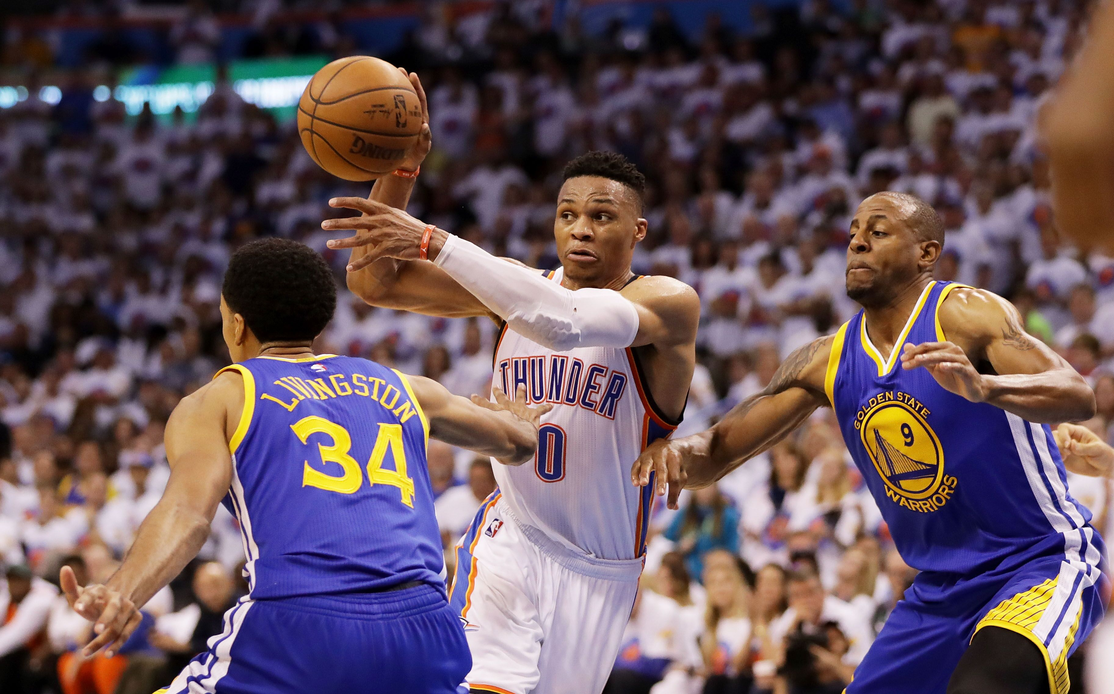 Game Recap NBAcoms exclusive coverage of Thunder vsWarriors on 05182016