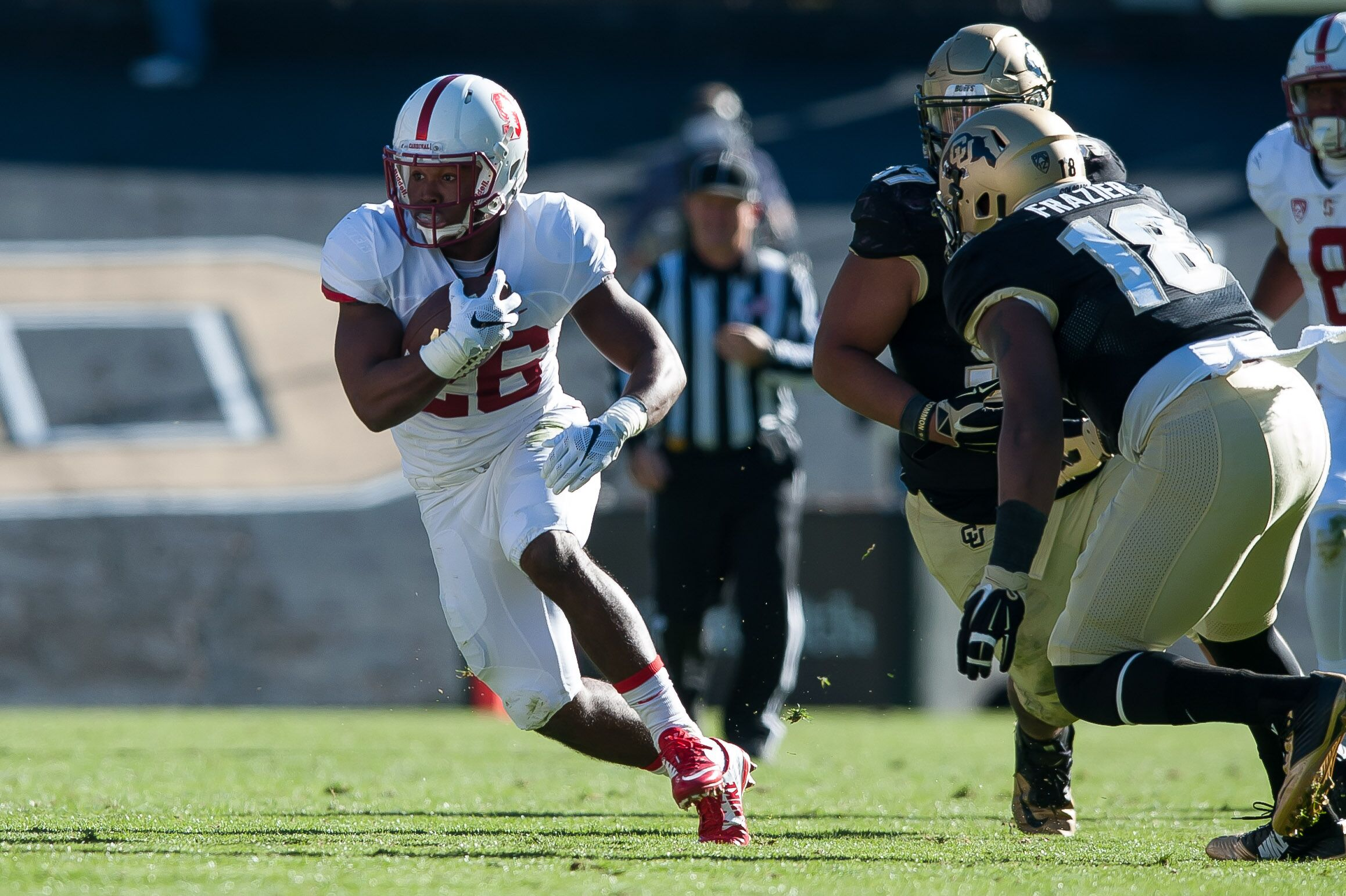Barry Sanders Jr. scores TD on his first run for Oklahoma ...