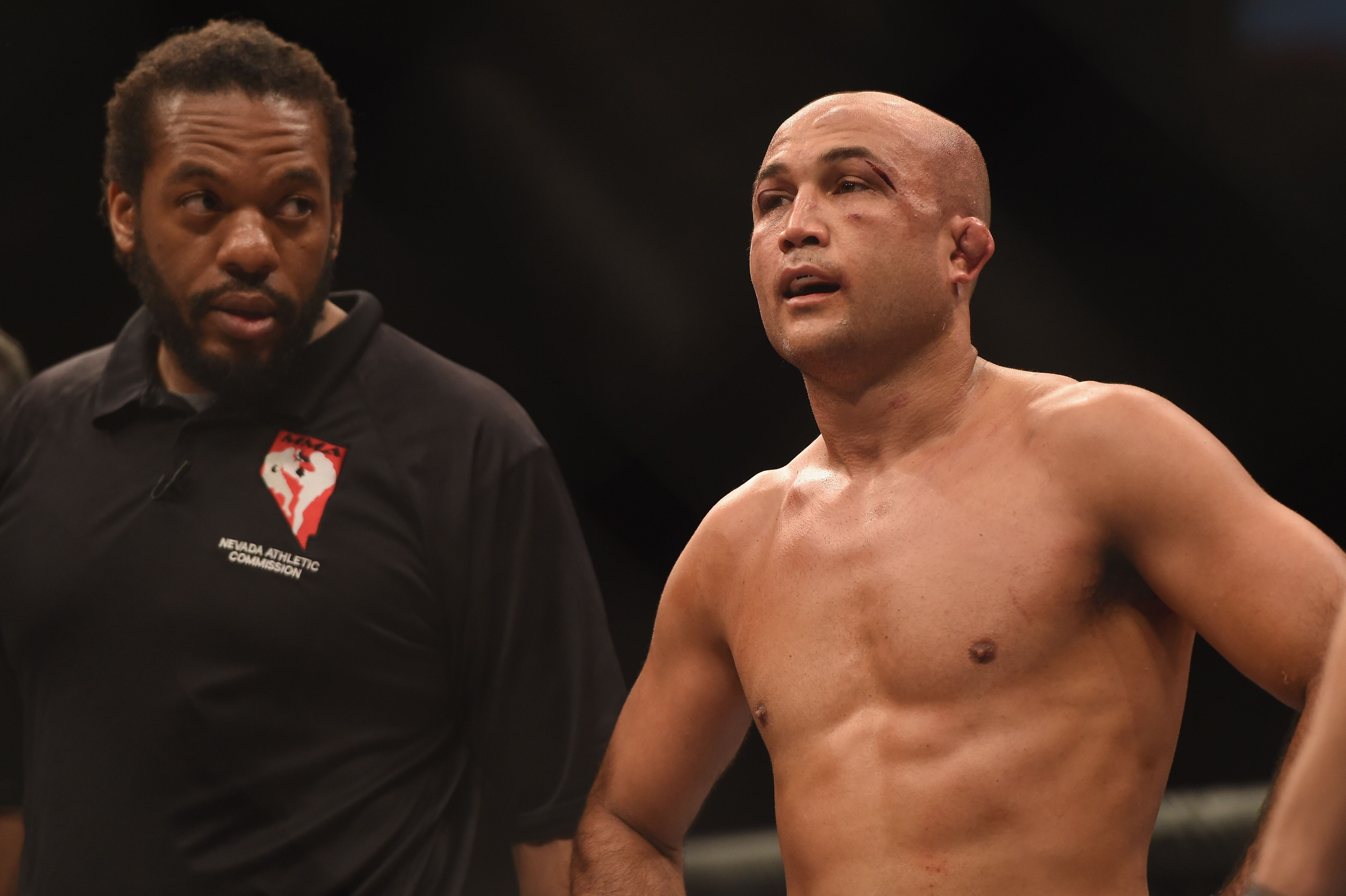 B.J. Penn injured, out of UFC Fight Night 97 main event against Ricardo Lamas