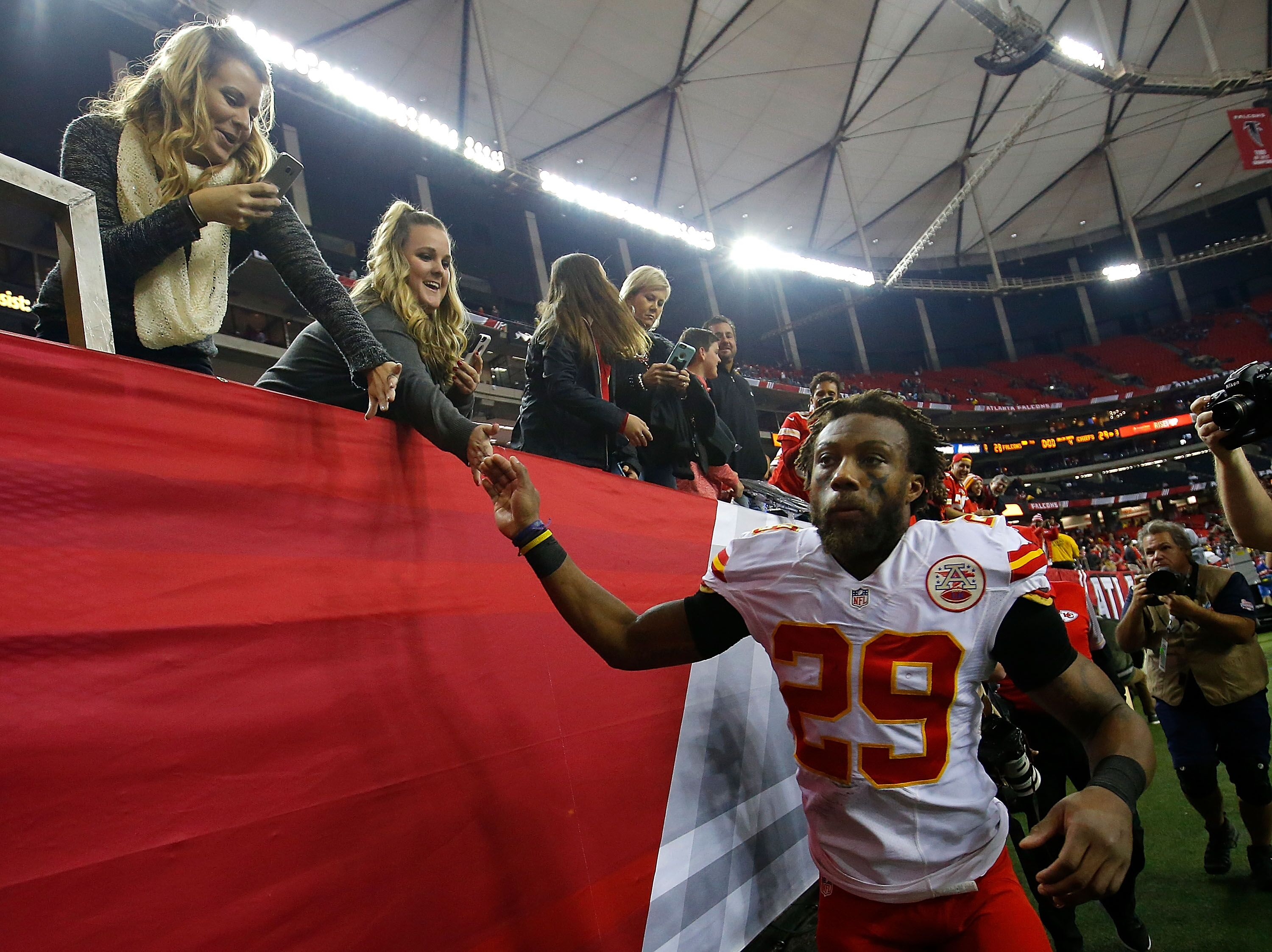 Chiefs safety Eric Berry carted off with Achilles injury against