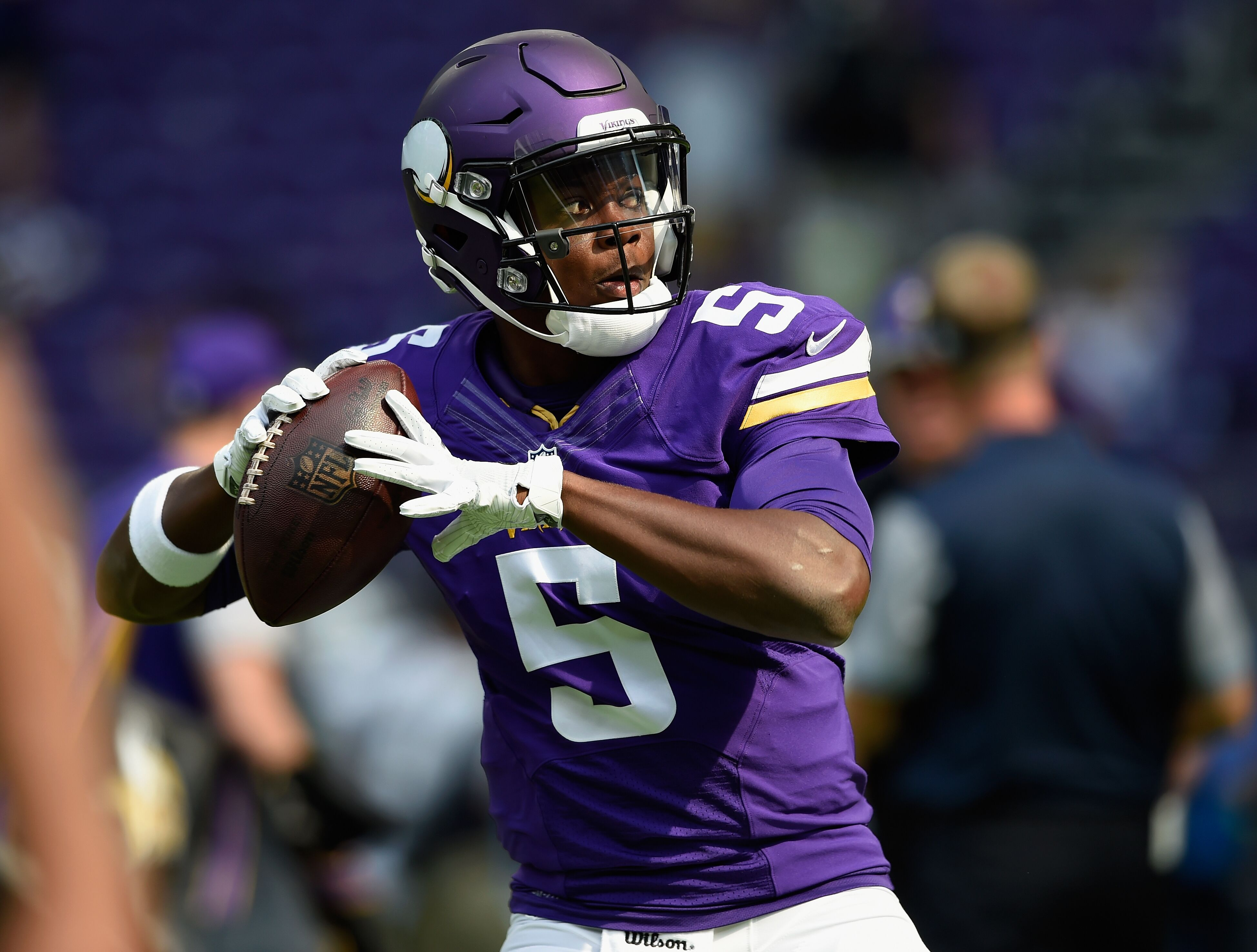 Vikings Quarterback Teddy Bridgewater Returning To The