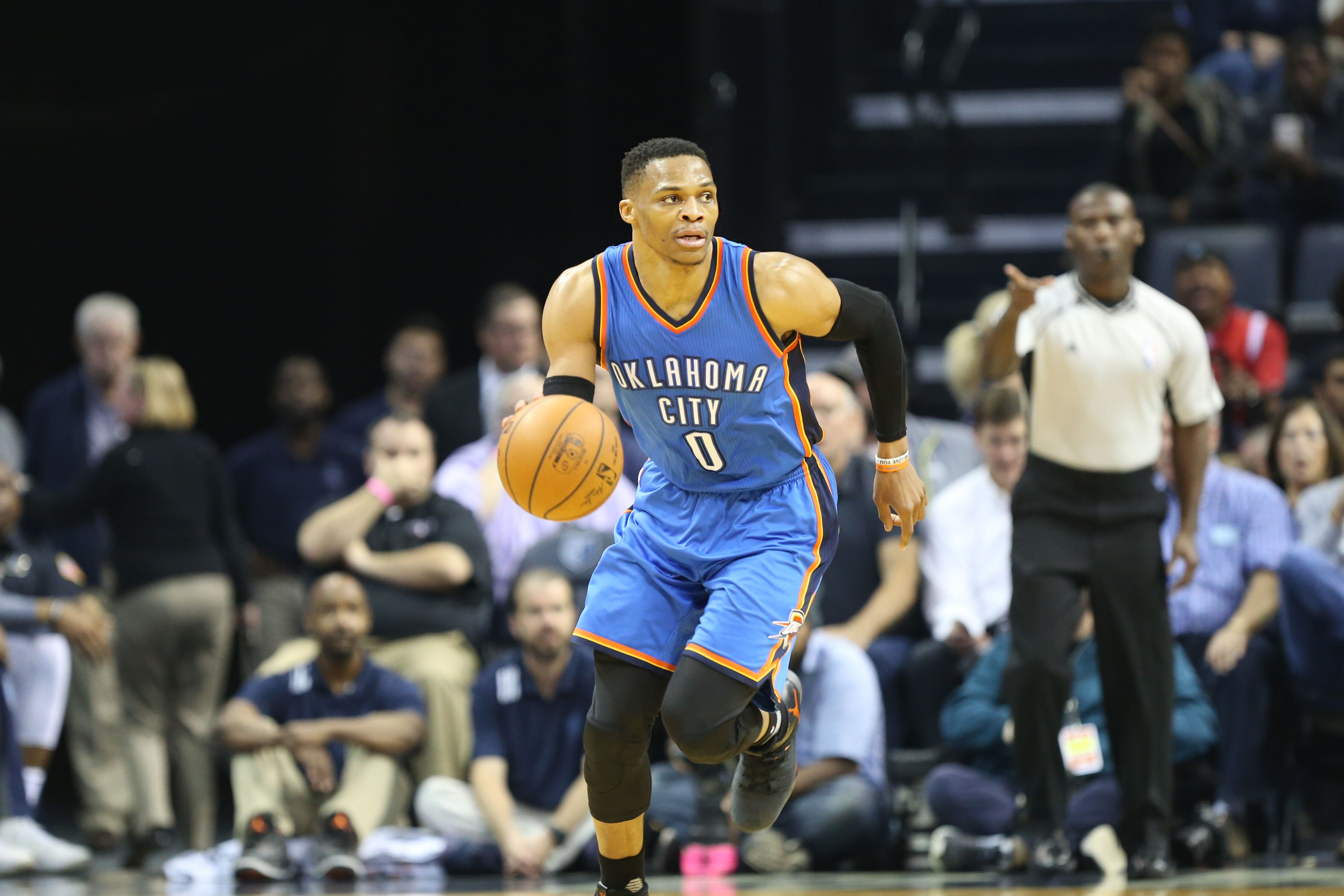 Russell Westbrook clinches season-long triple-double (Video)