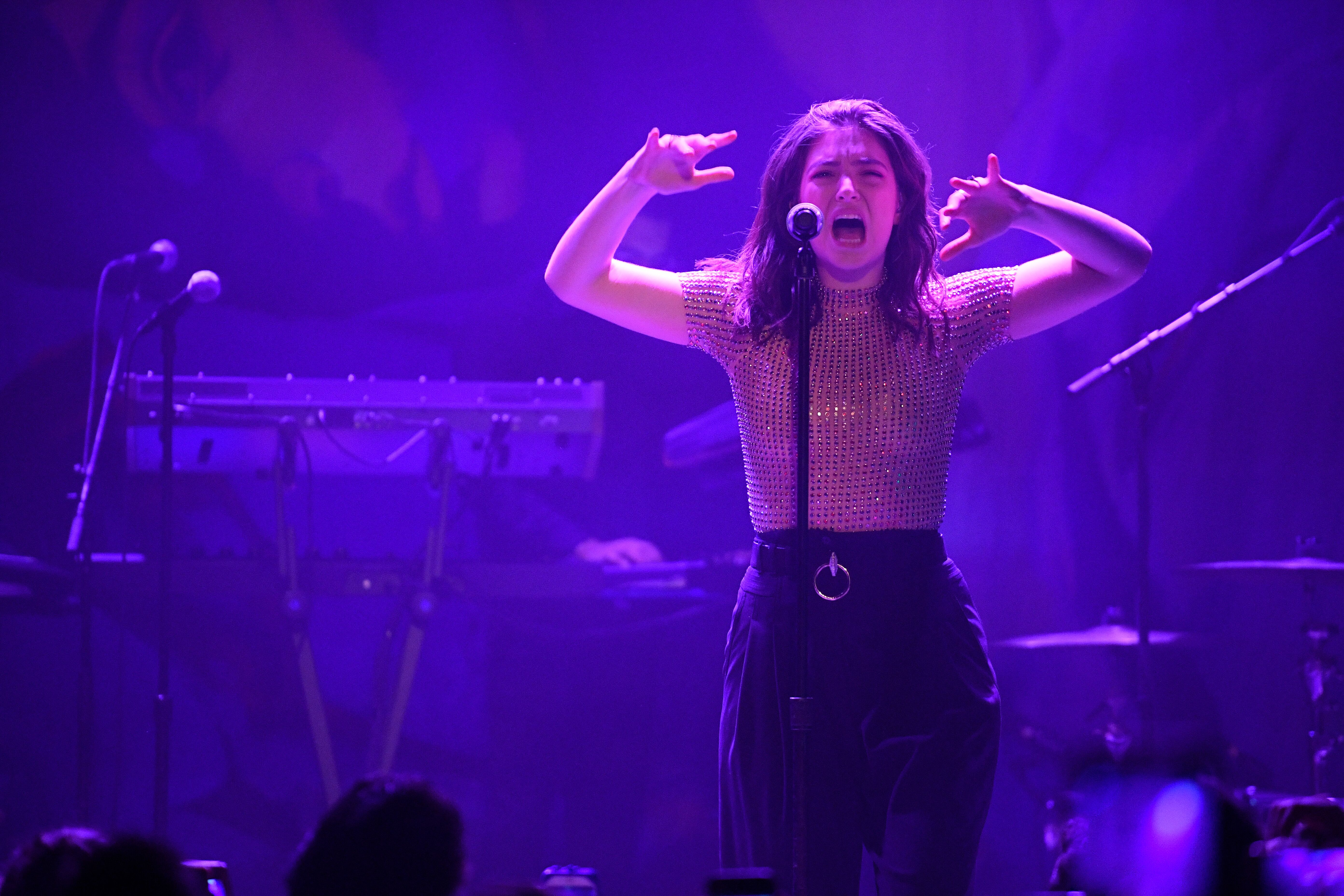 On Melodrama, Lorde enters a new era