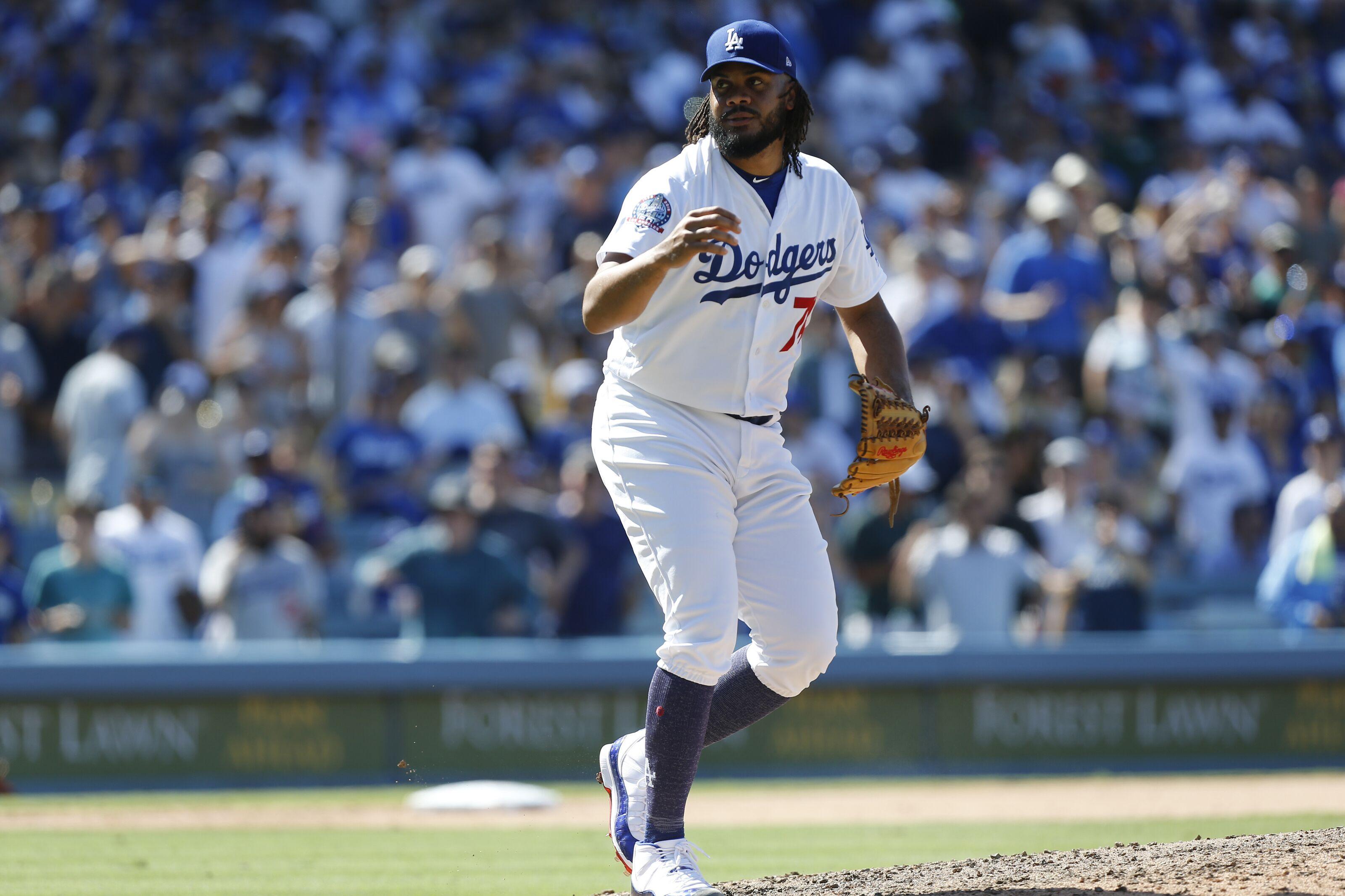 195f16d35 Dodgers closer Kenley Jansen expected to miss a month