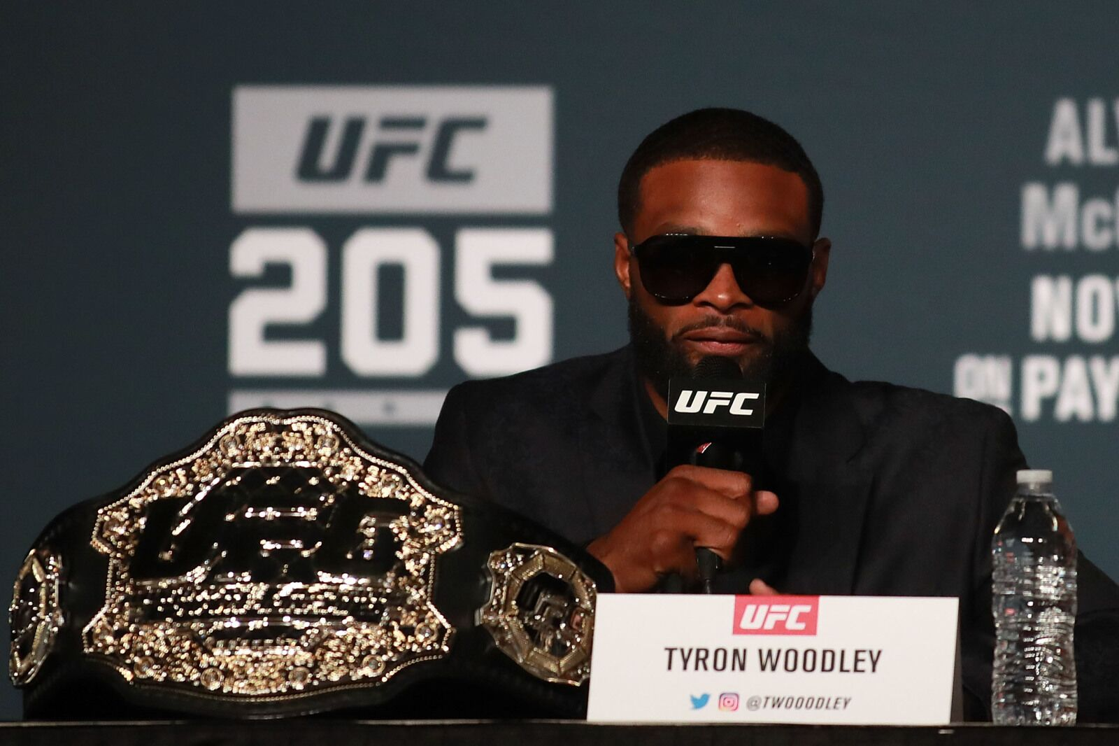 Tyron Woodley on UFC Minneapolis withdrawal: I got to protect my hand