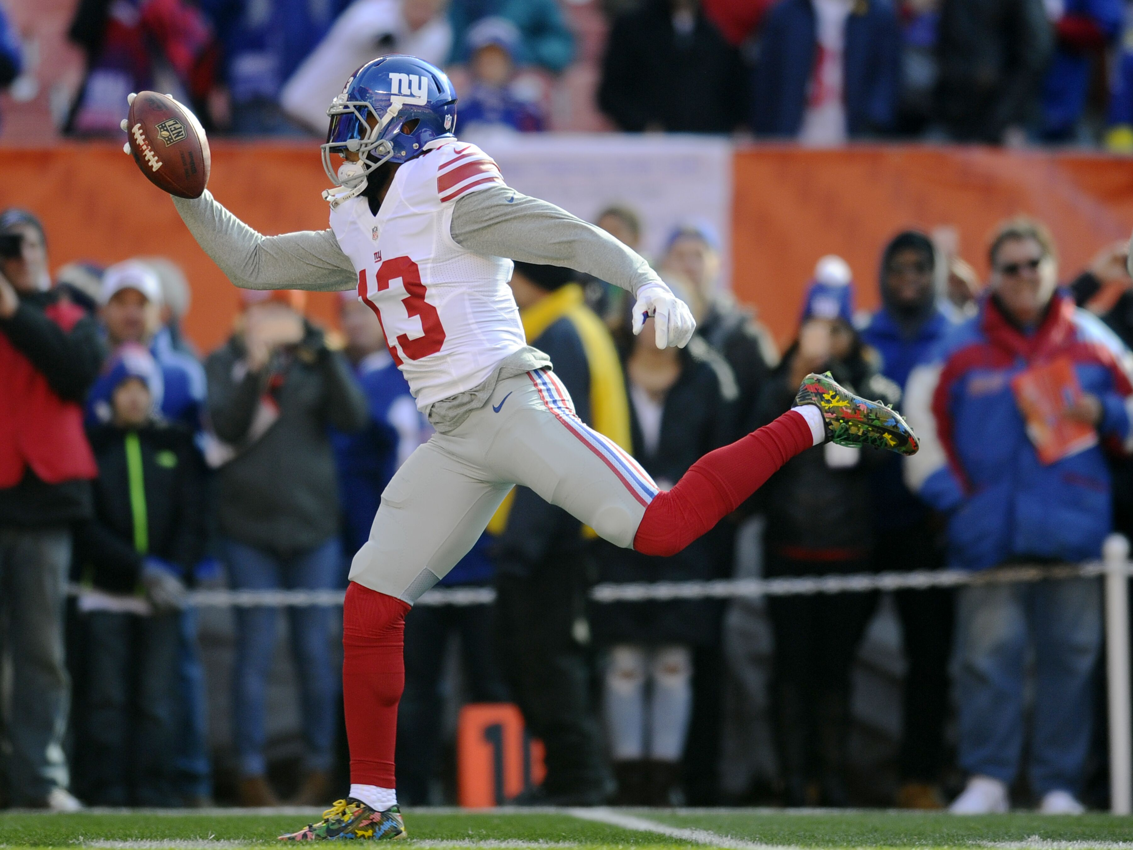 Image result for odell one hand
