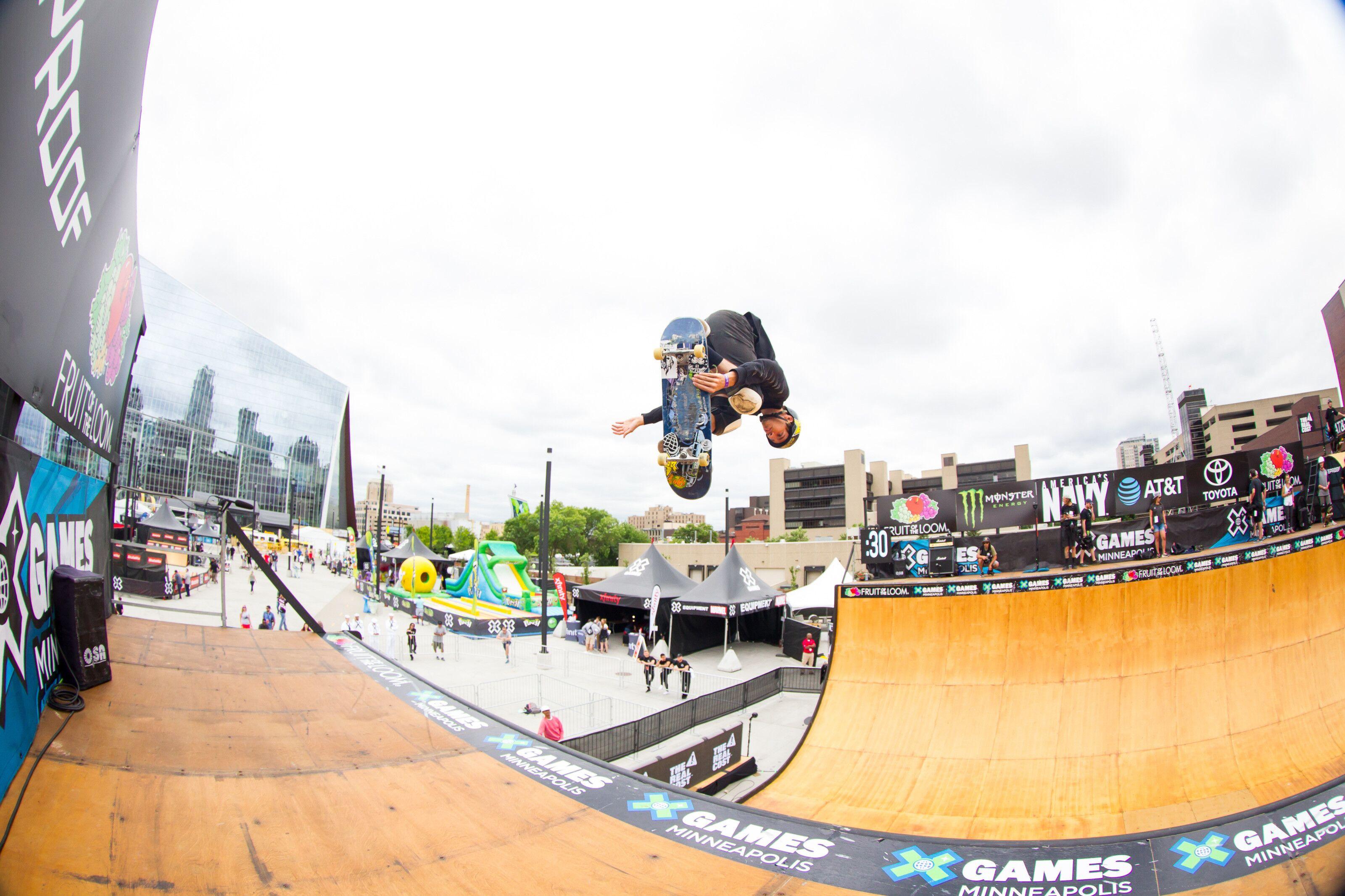 X Games Minneapolis 2018: Skateboard vert results