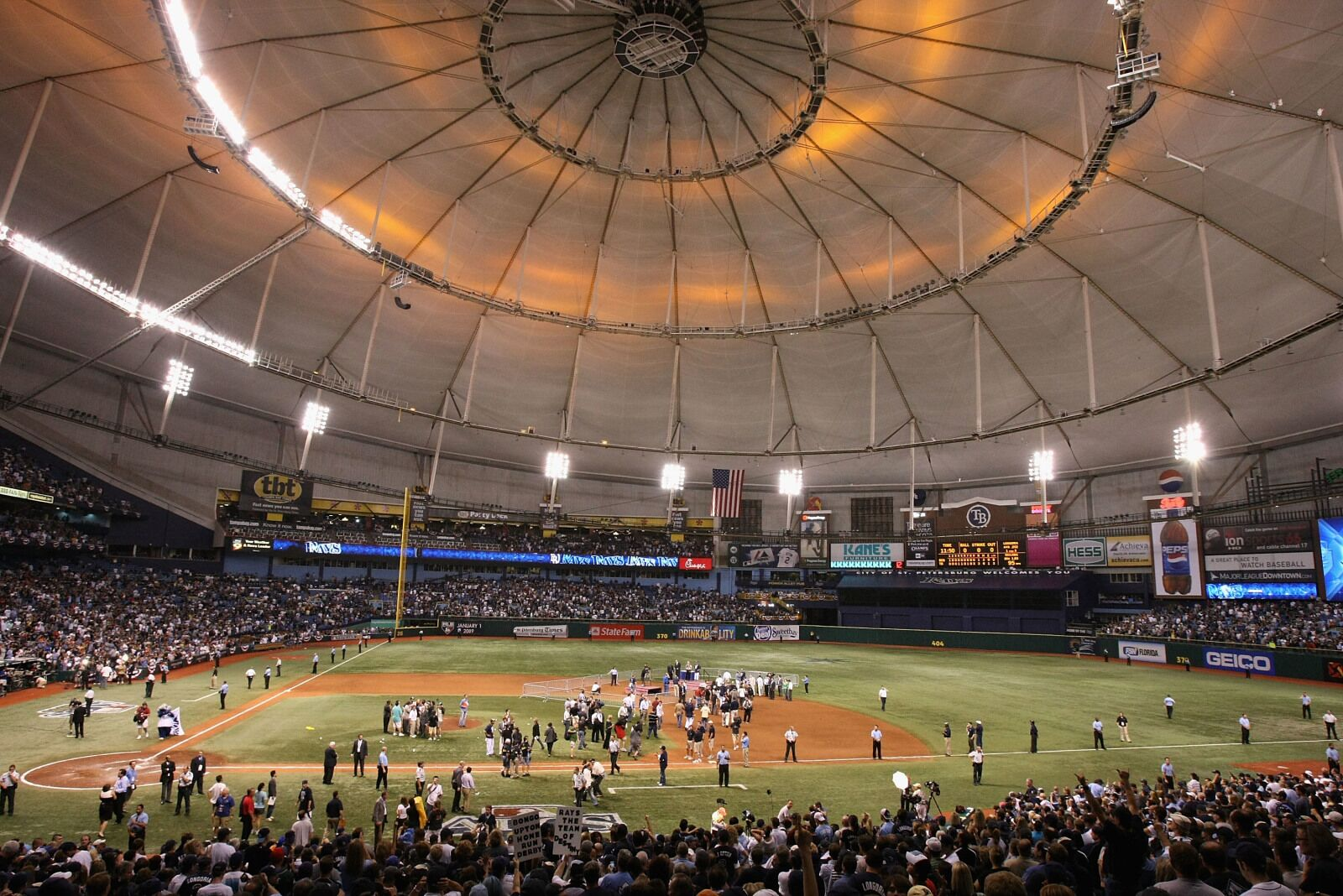 Rays announce new stad...