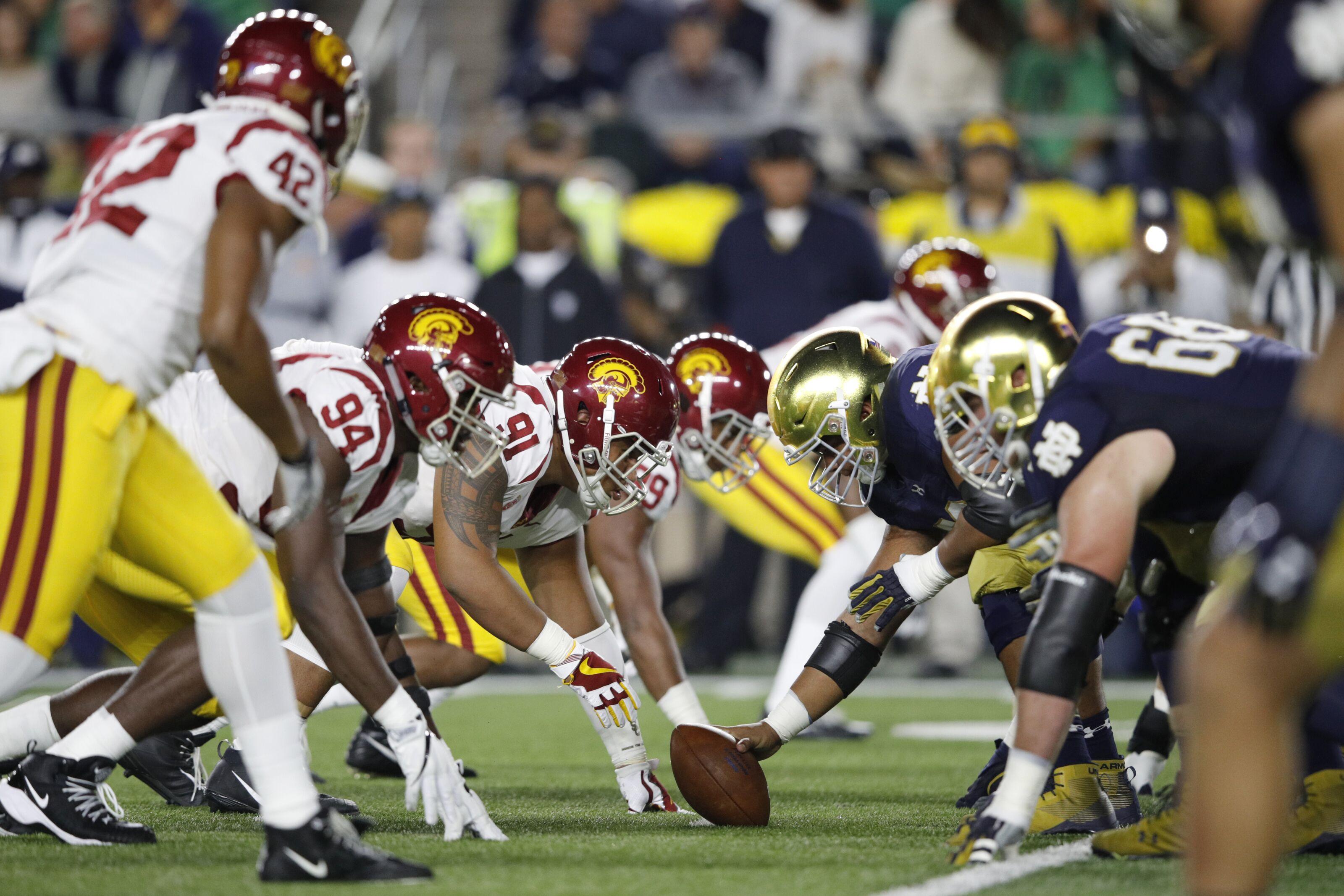 football college rivalry games getty fan
