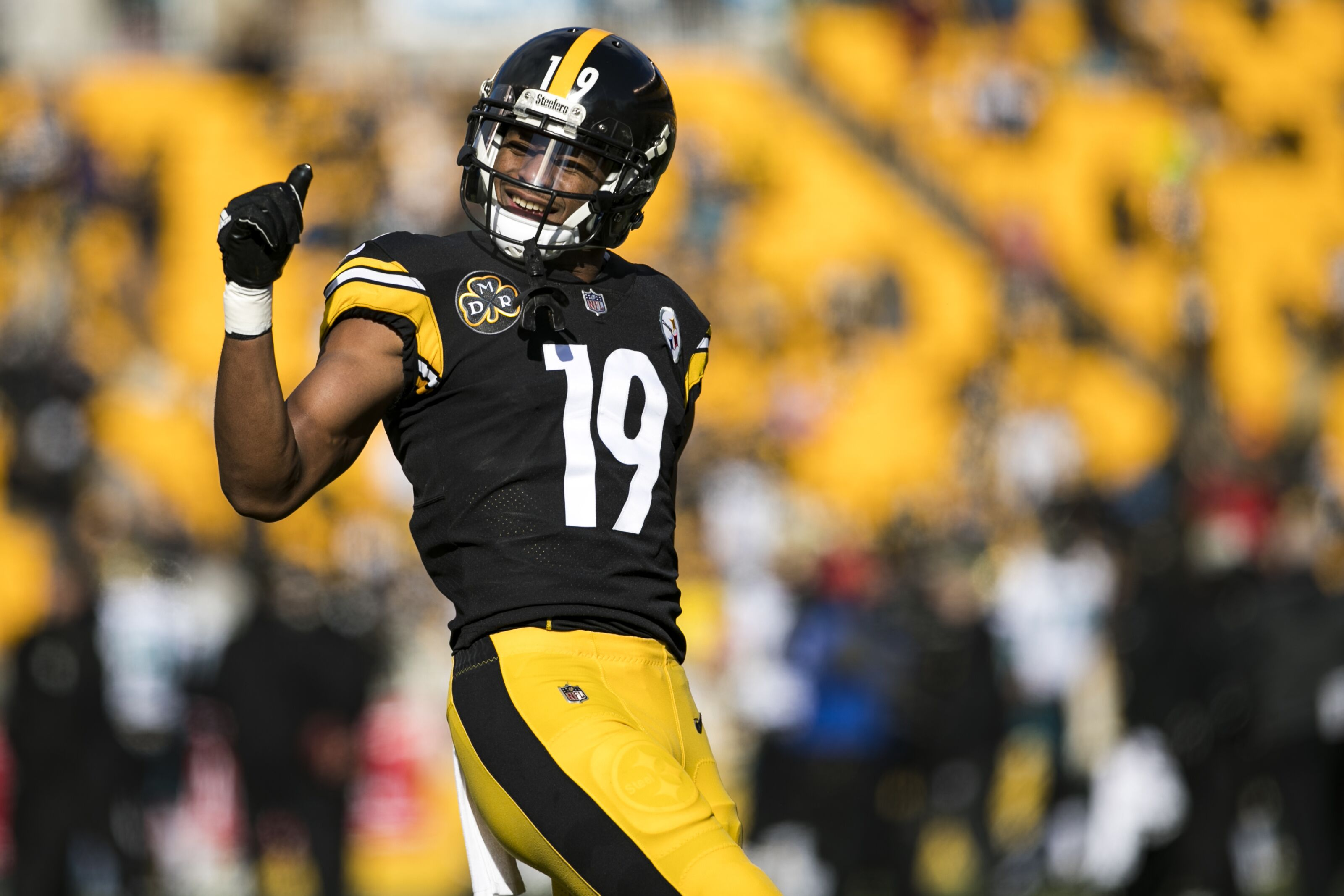 Juju Smith Schuster >> Steelers can't afford injury to wide receiver Juju Smith-Schuster