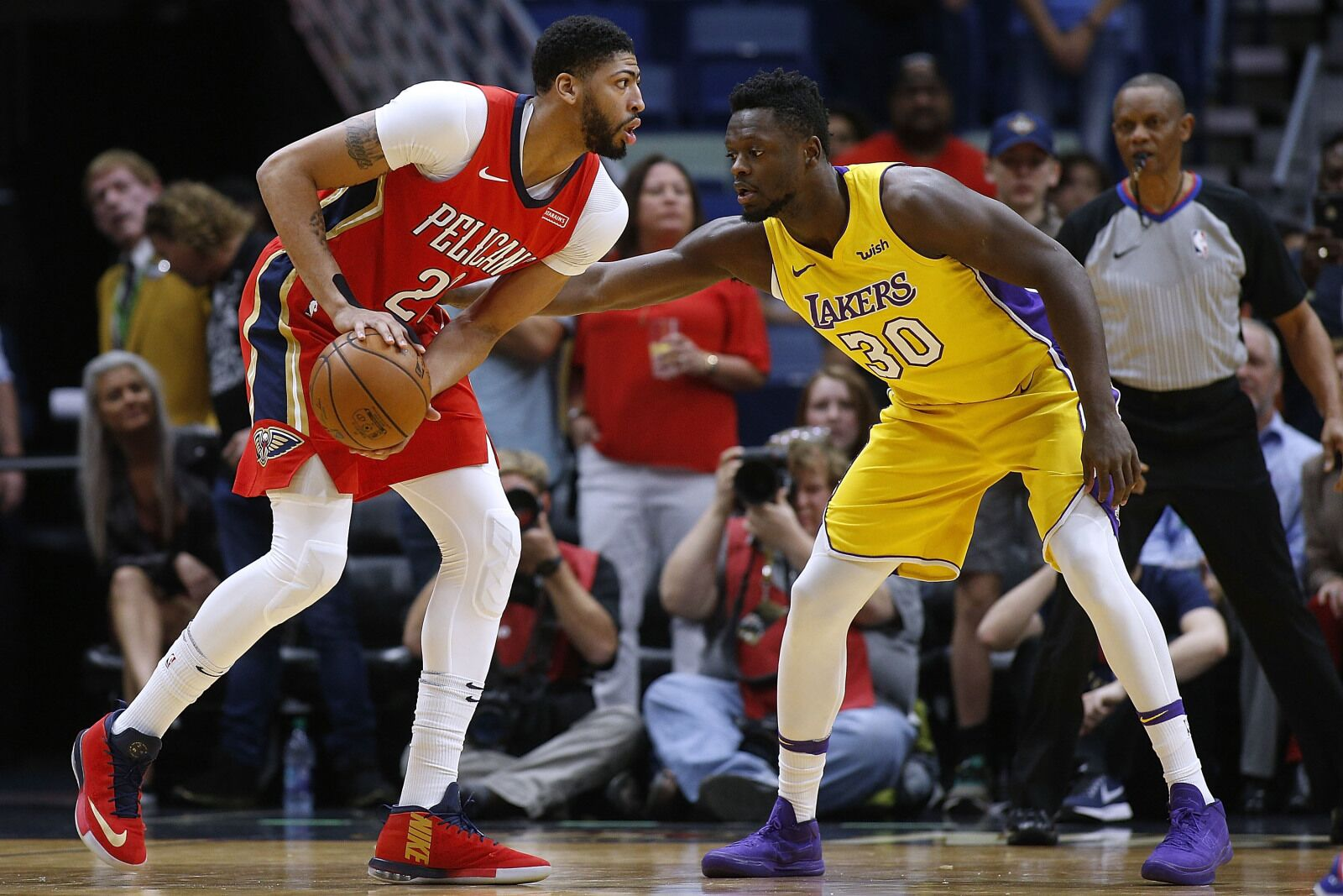 d4717e428 Why Julius Randle will be nice next to Anthony Davis