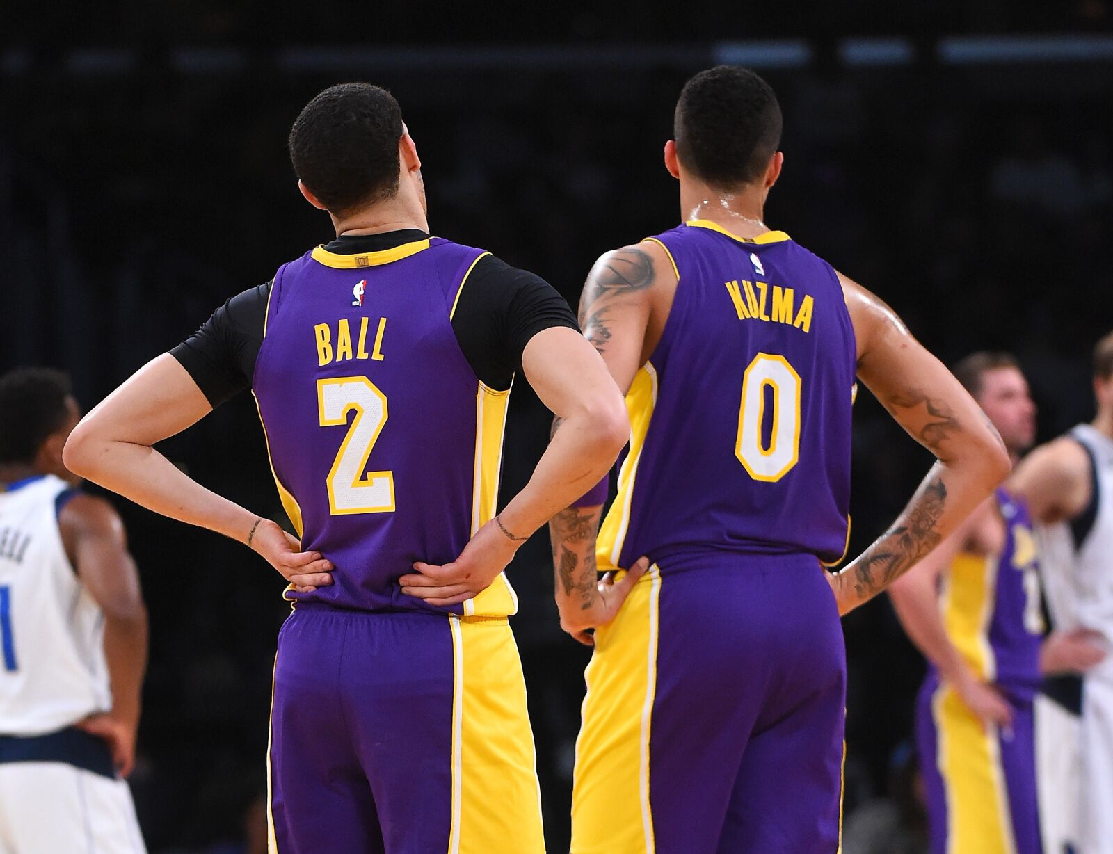 Lakers open to trading anyone in right deal  Even Lonzo Ball ... ec84eb9cf