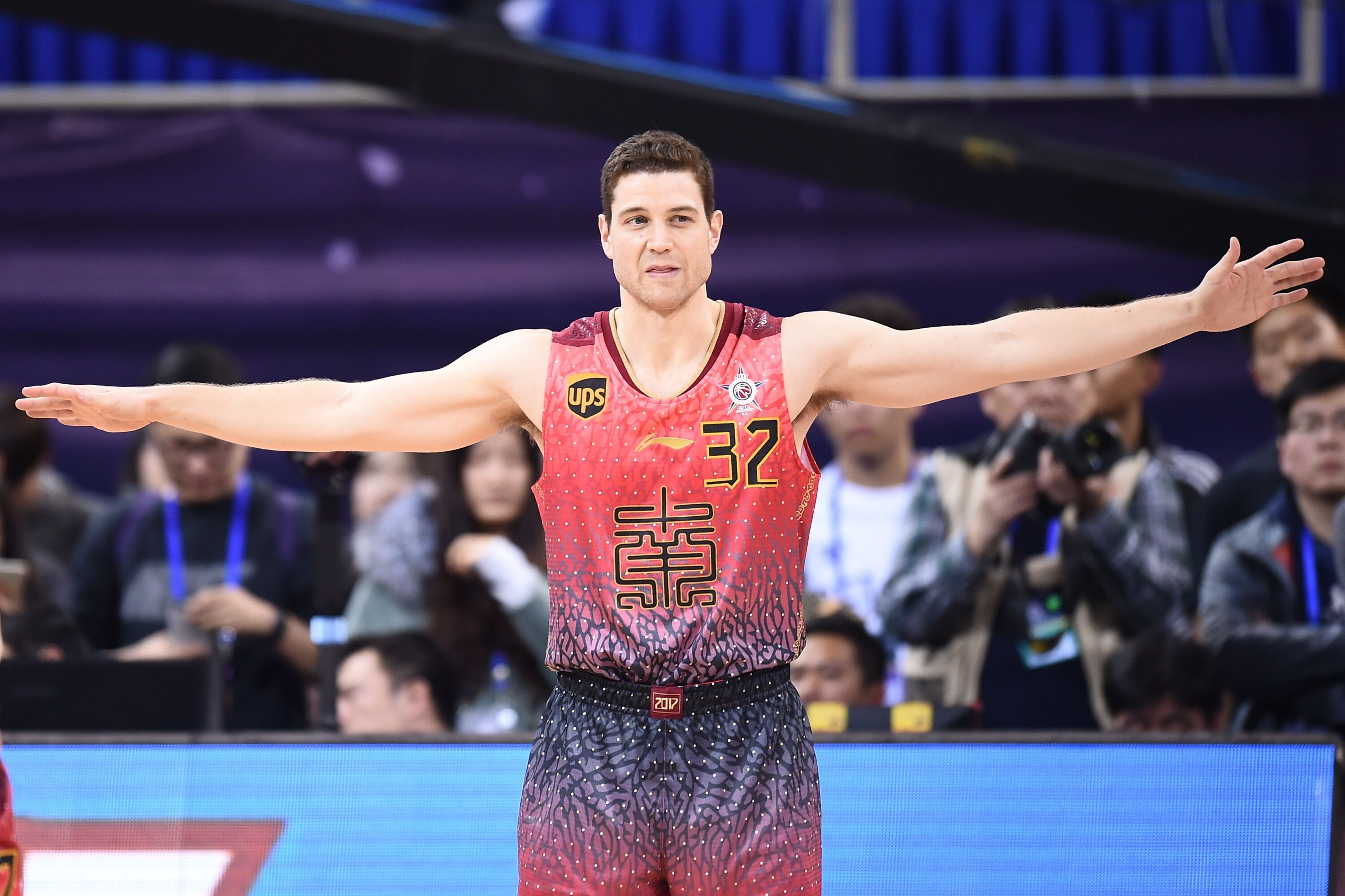 Jimmer Fredette and Stephon Marbury tussle in China