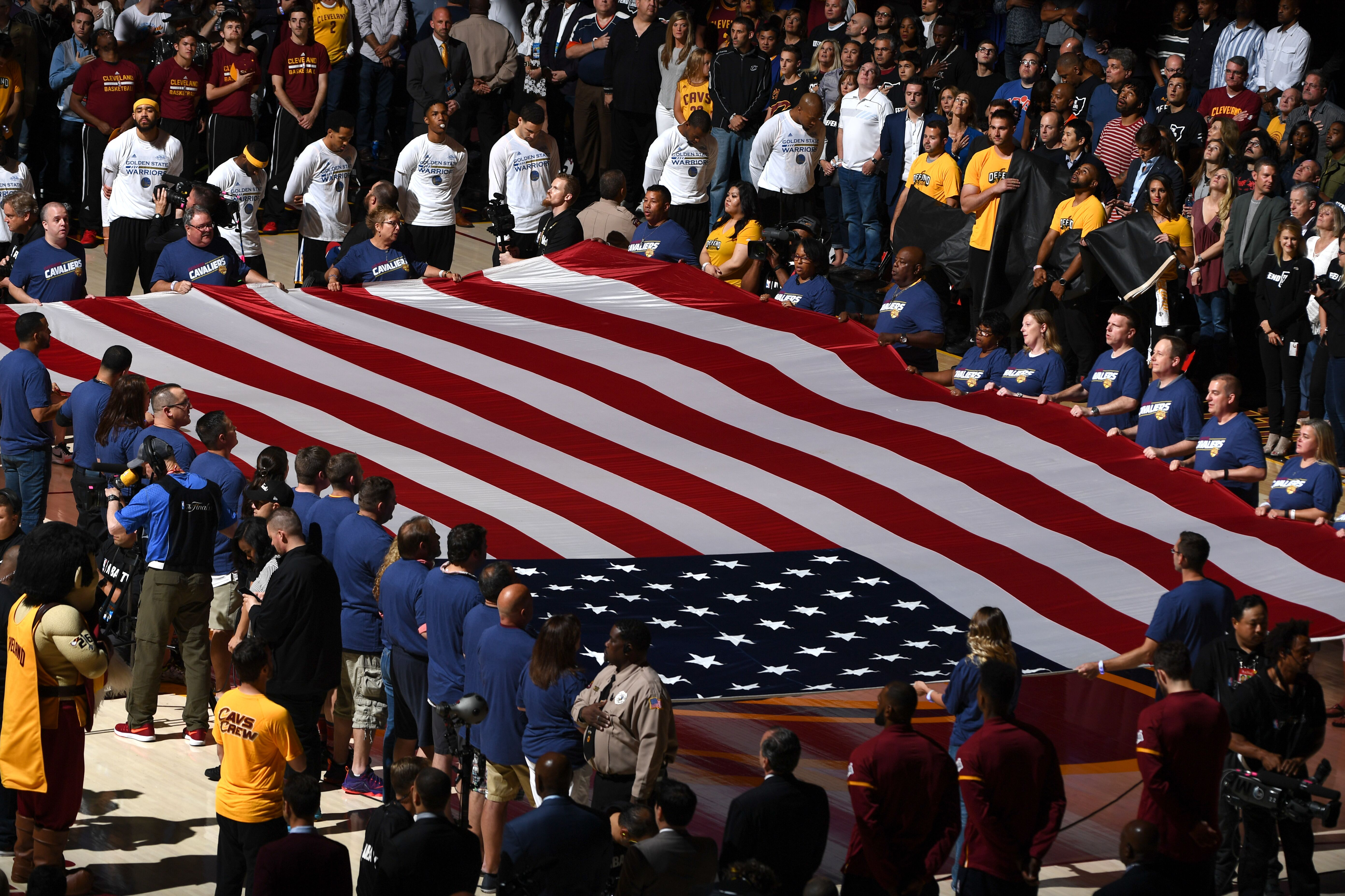 NBA memo states that no national anthem protests are allowed