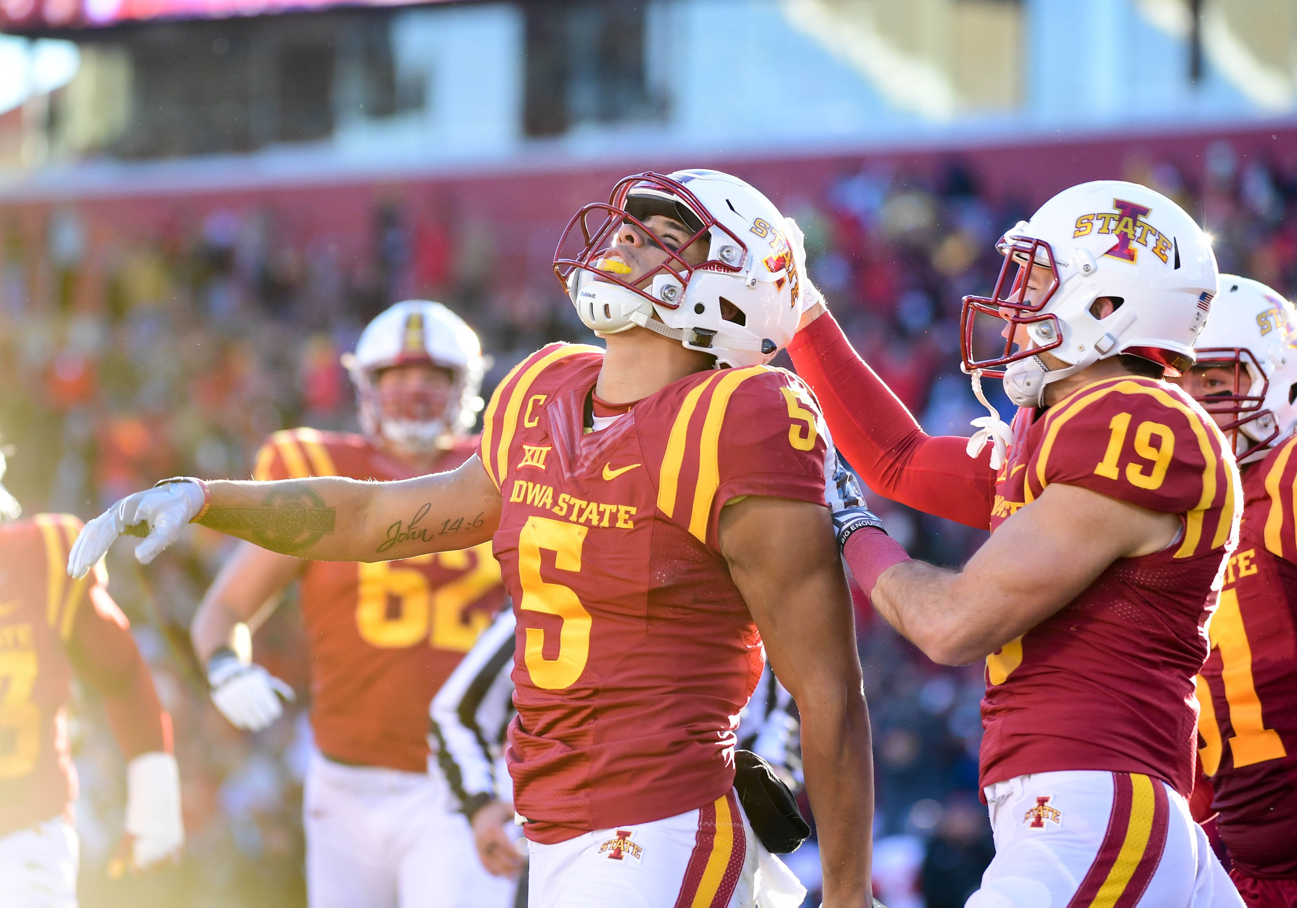Iowa State's Allen Lazard makes incredible late TD catch ...