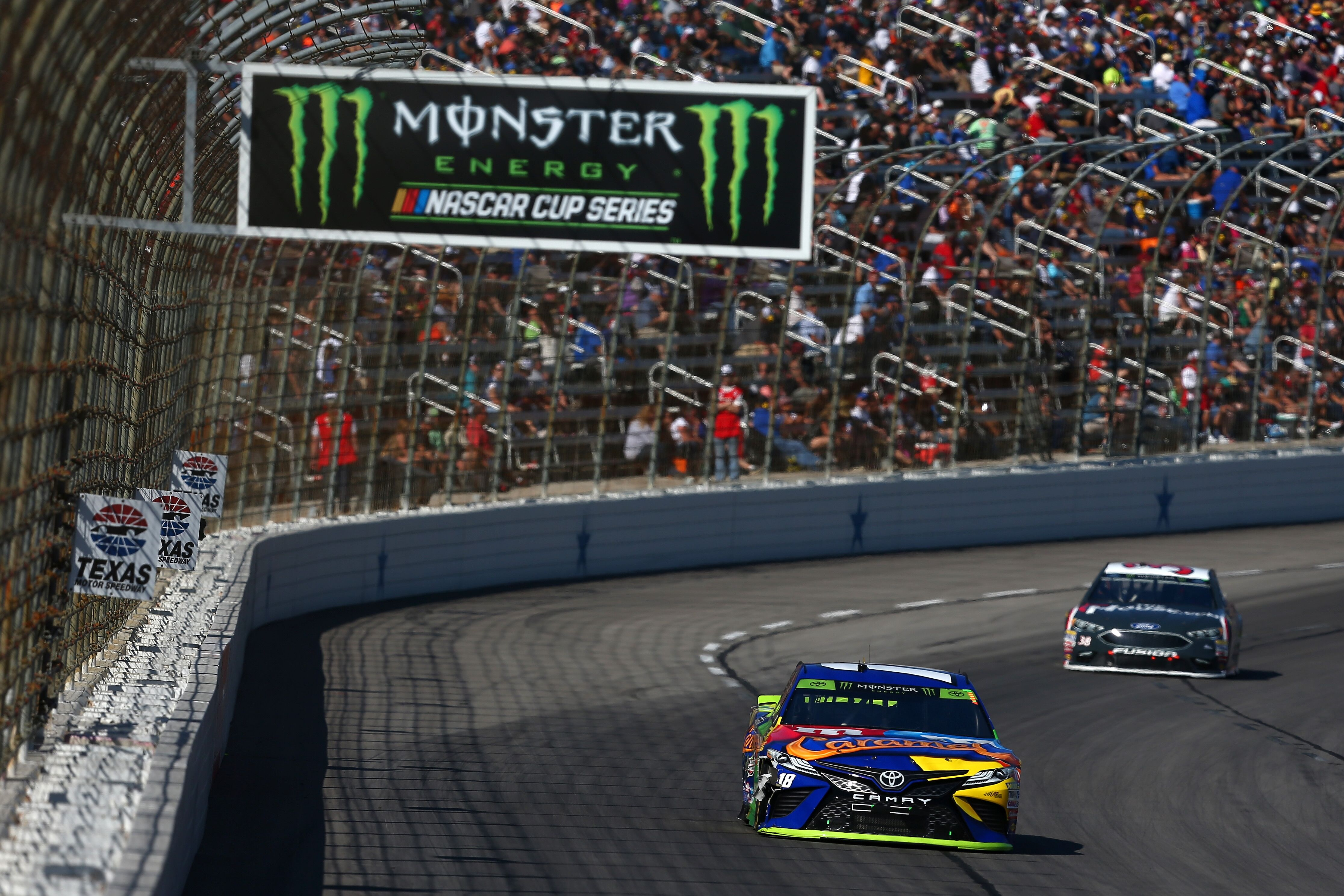 2018 monster energy nascar cup series start times released for Nascar texas motor speedway 2017