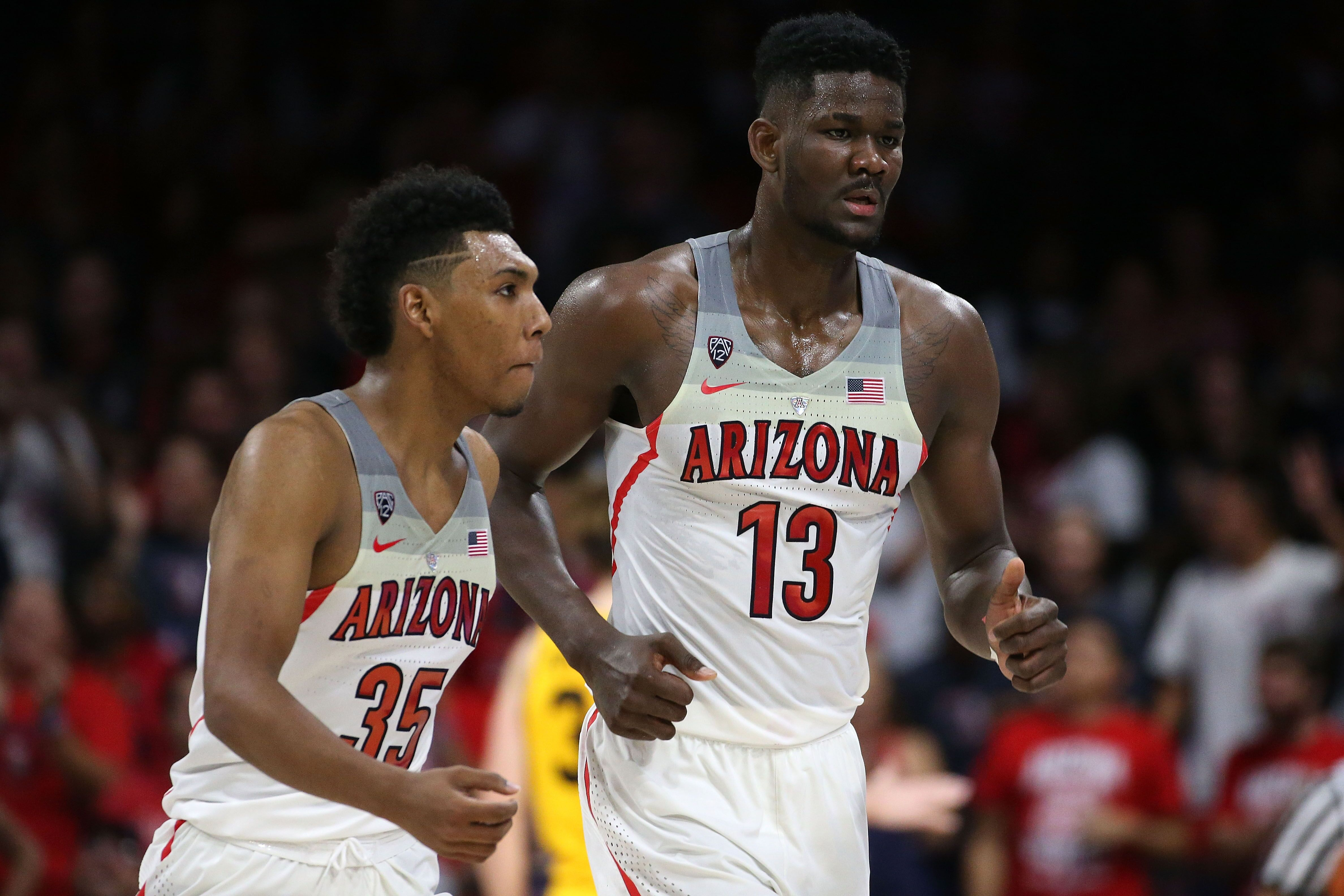 477f4f2571ef Arizona s Deandre Ayton and Allonzo Trier declare for NBA draft - NBA News