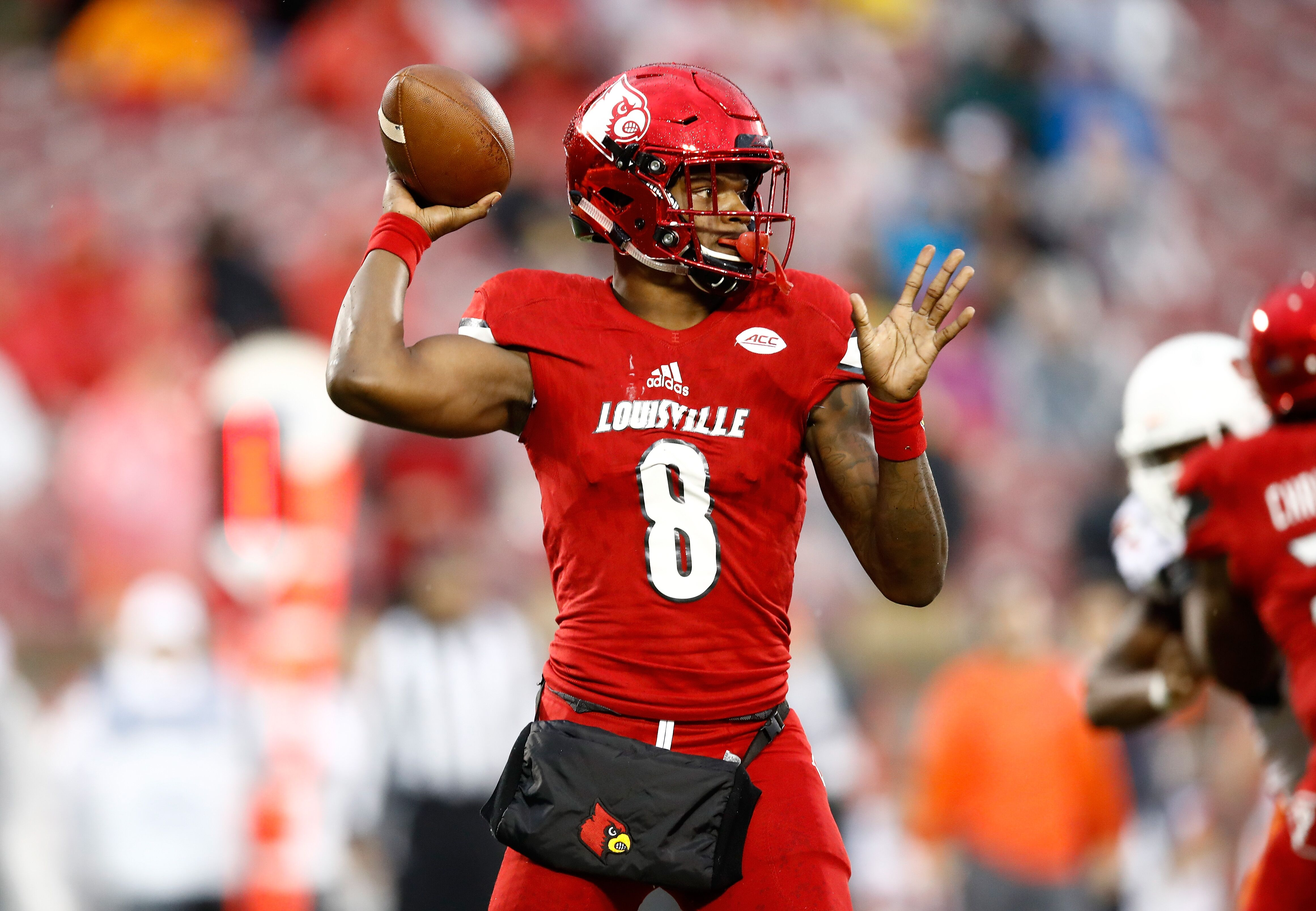Lamar Jackson is a quarterback, and don't forget it