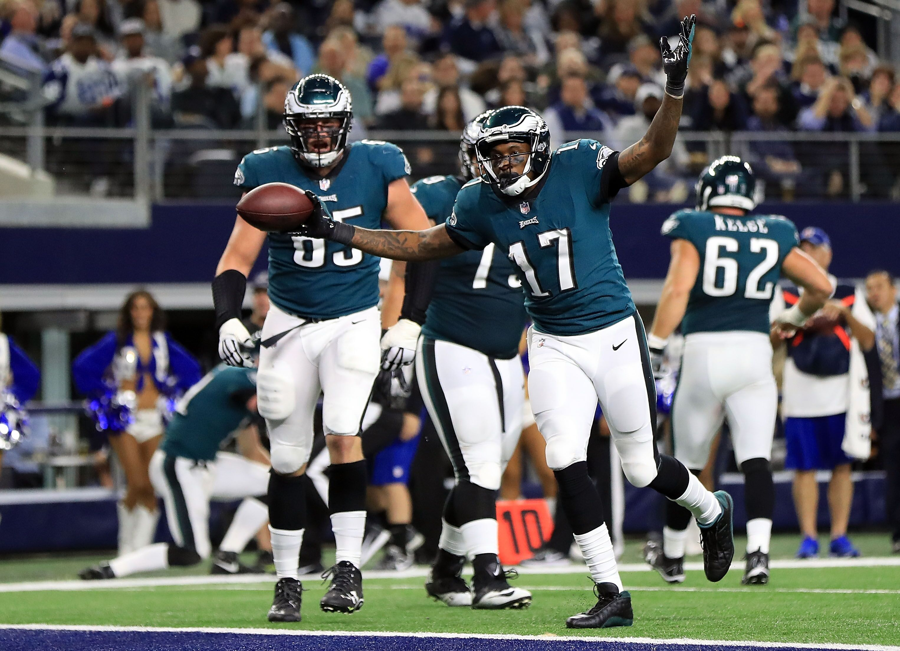Eagles At Cowboys Highlights Score And Recap