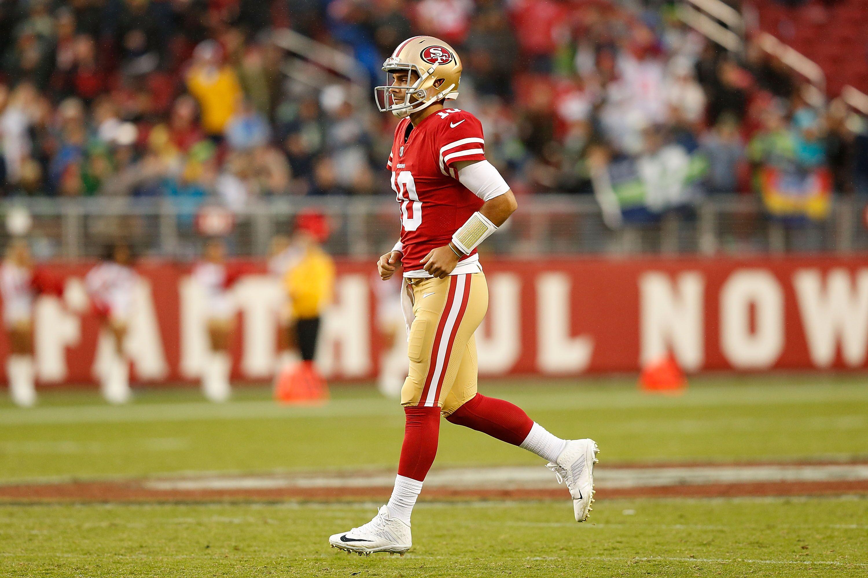 ea1eca99 Jimmy Garoppolo set to make first 49ers start against Bears - Football ...