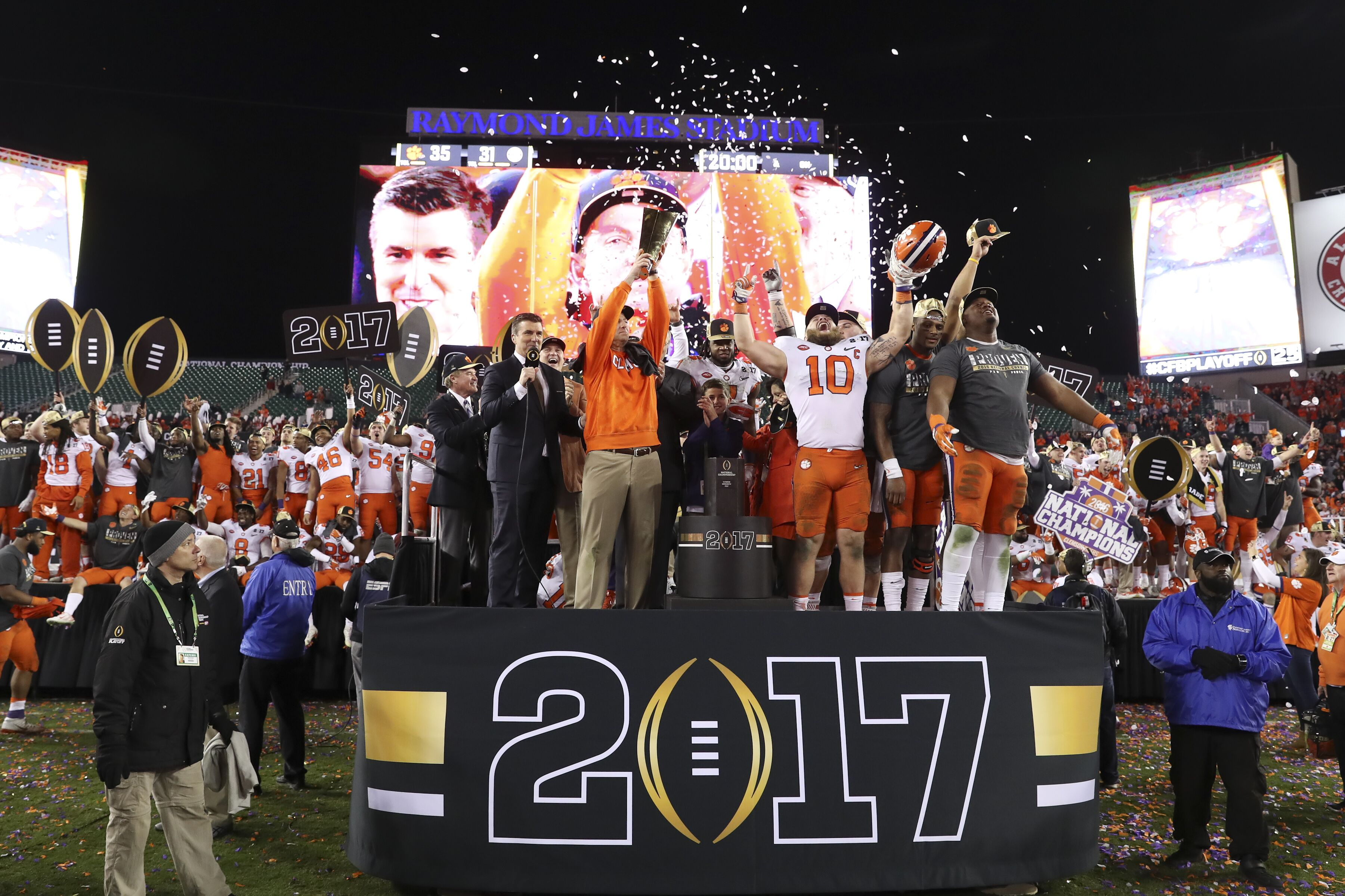 Ranking every College Football Playoff team in history