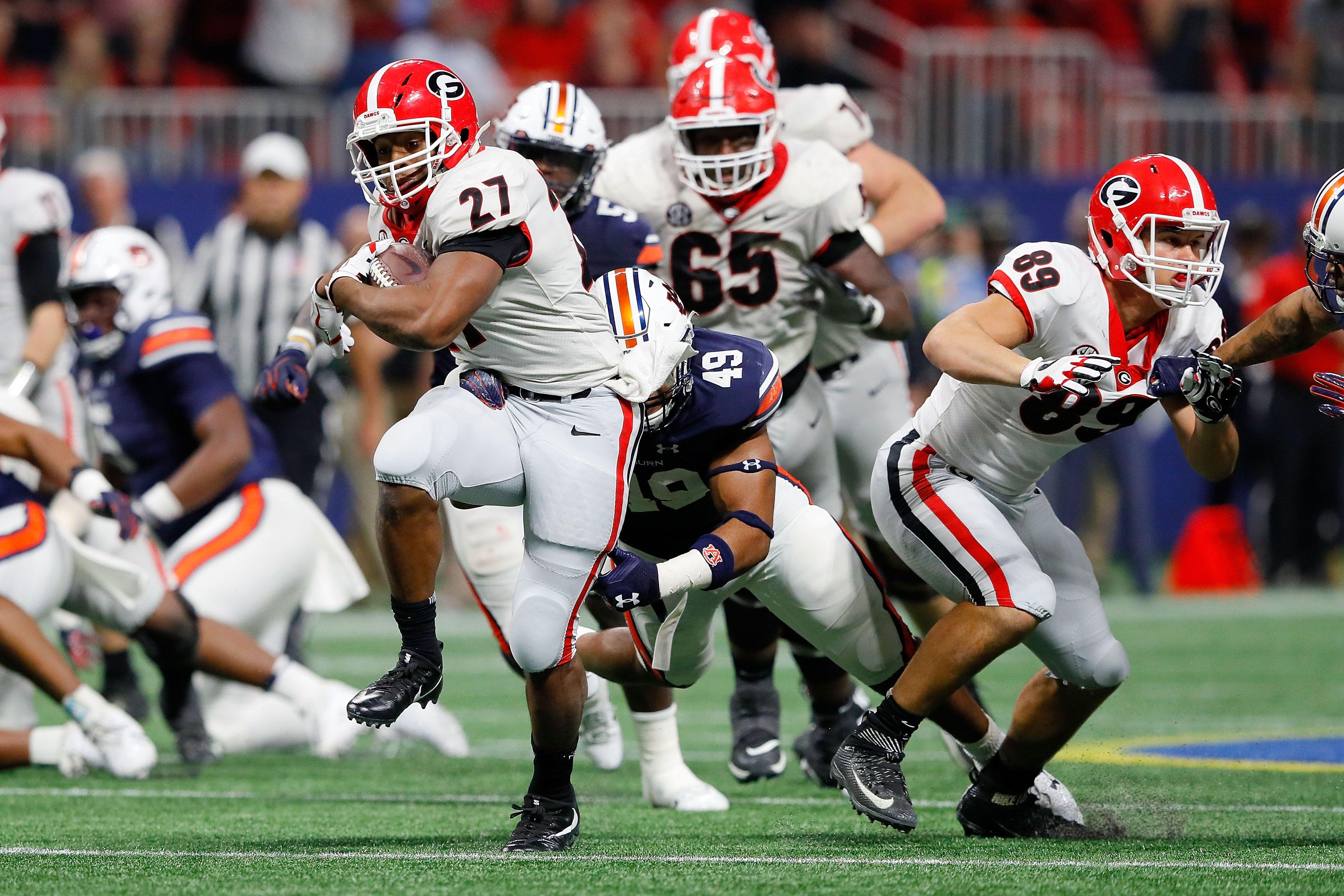 Georgia wins 2017 SEC Championship over Auburn, 28-7: 3 ...