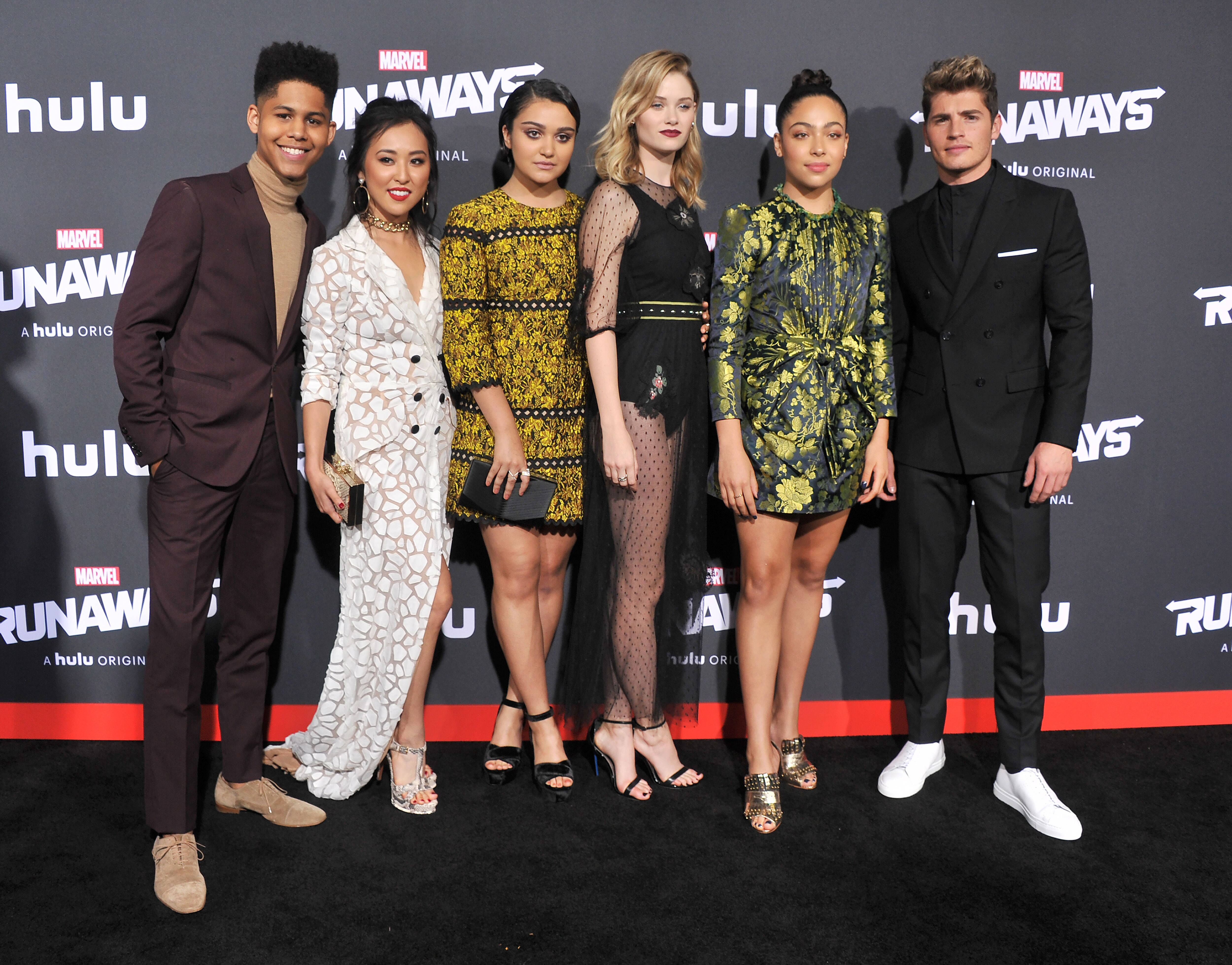 Marvel's Runaways renewed for a second season at Hulu