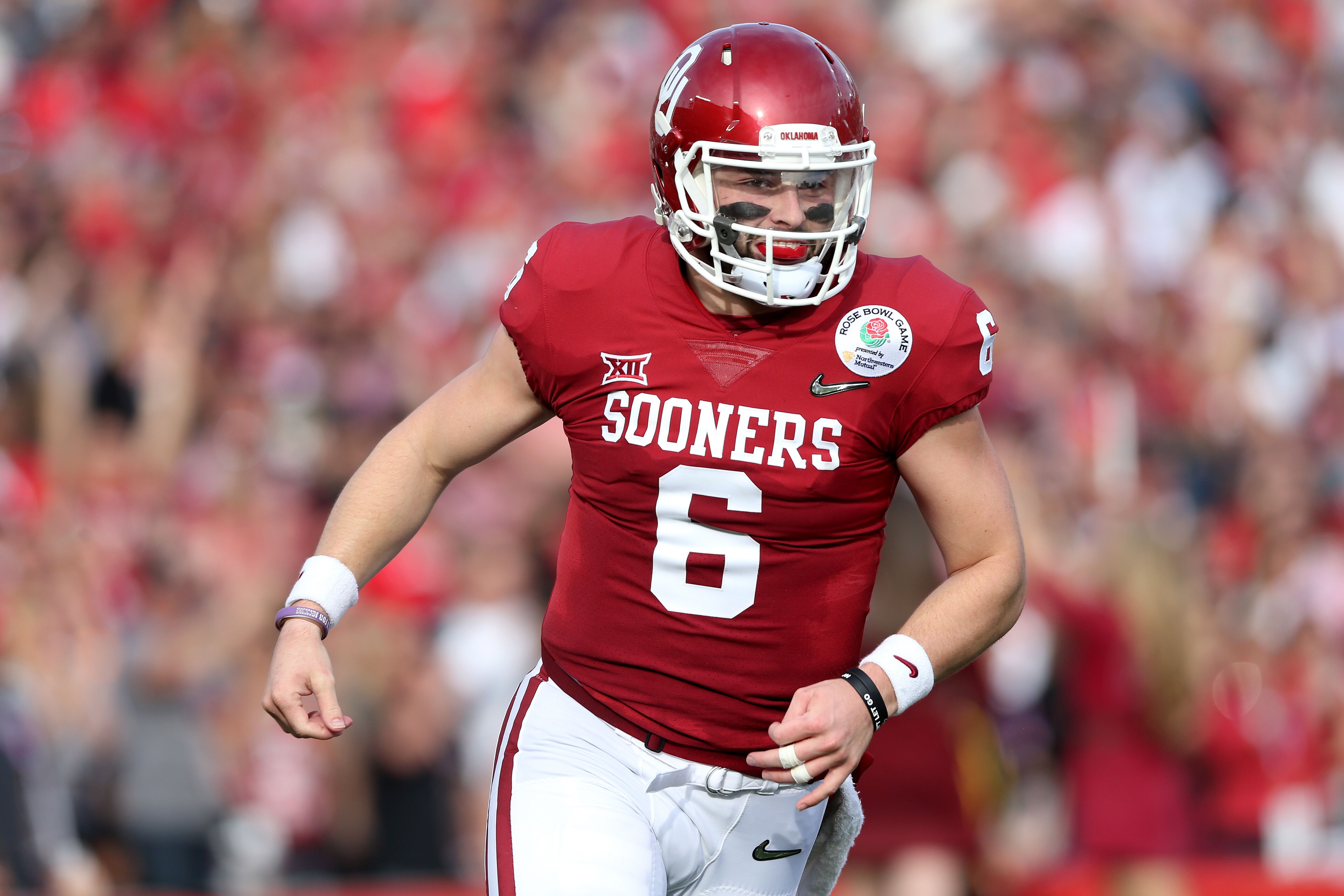 a91697f39 Baker Mayfield interview  From Heisman Trophy season to 2018 NFL Draft