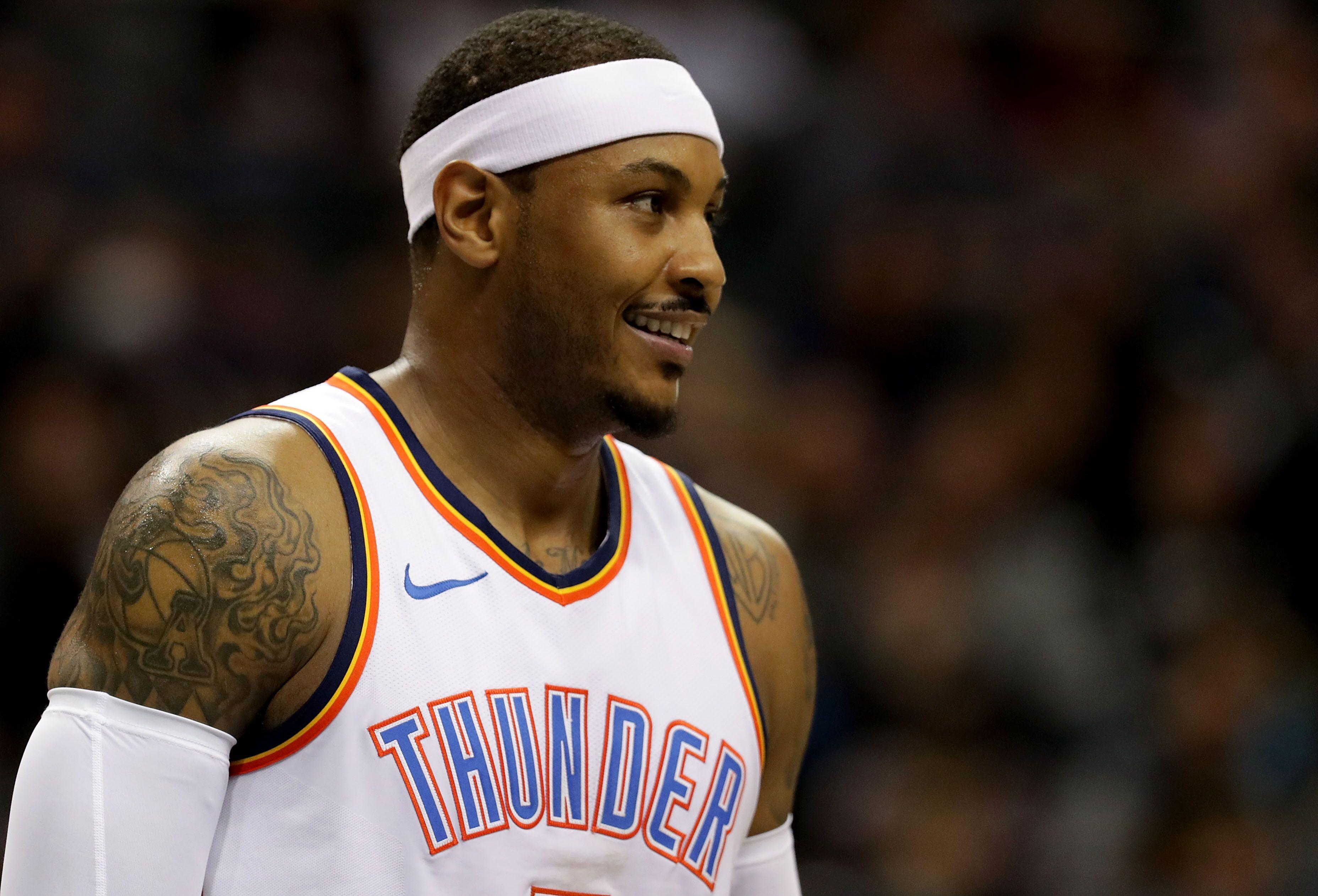 NBA Trade Deadline Portfolio 2018: Carmelo Anthony