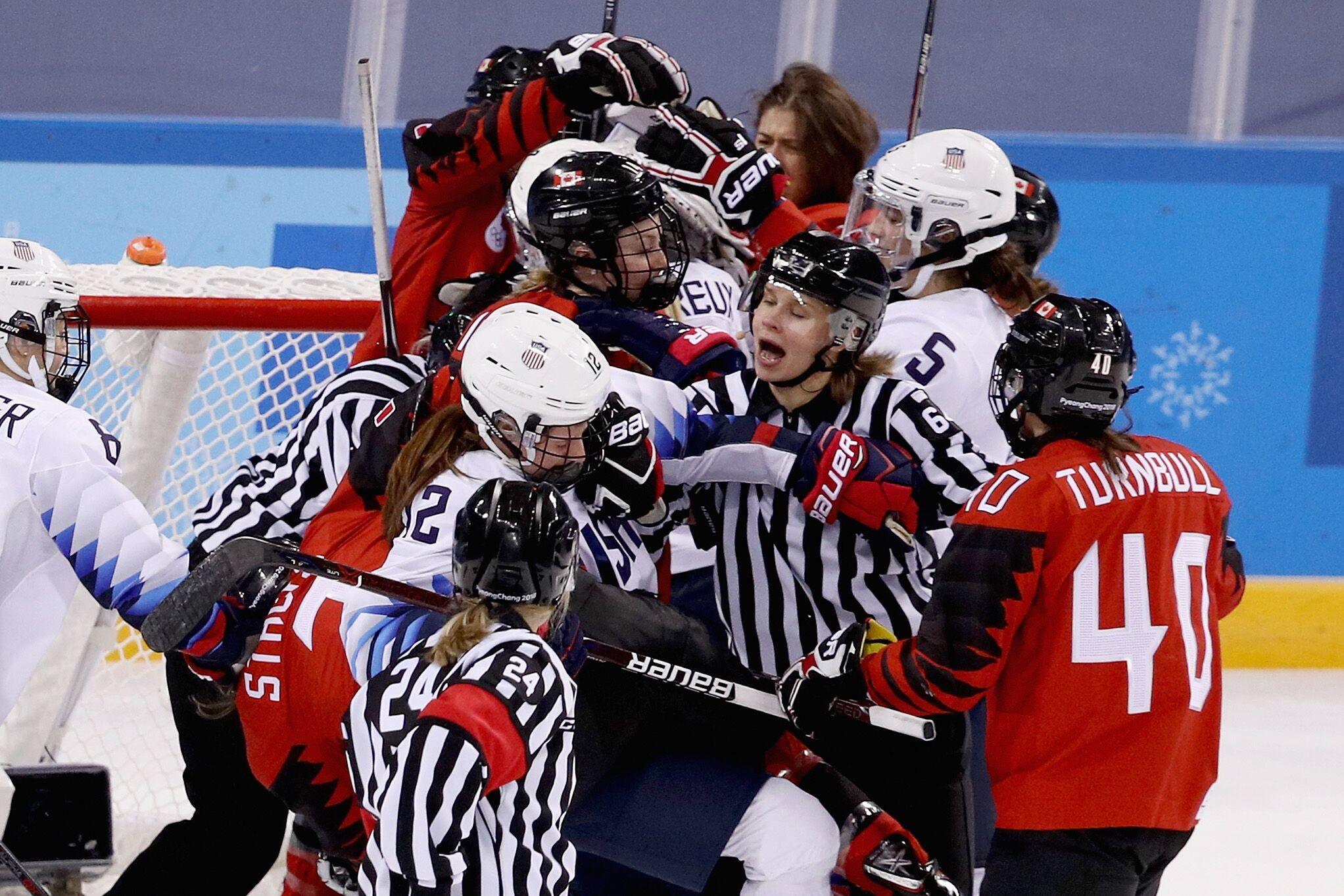 Women's Hockey: Team USA vs. Canada is the best rivalry in ...