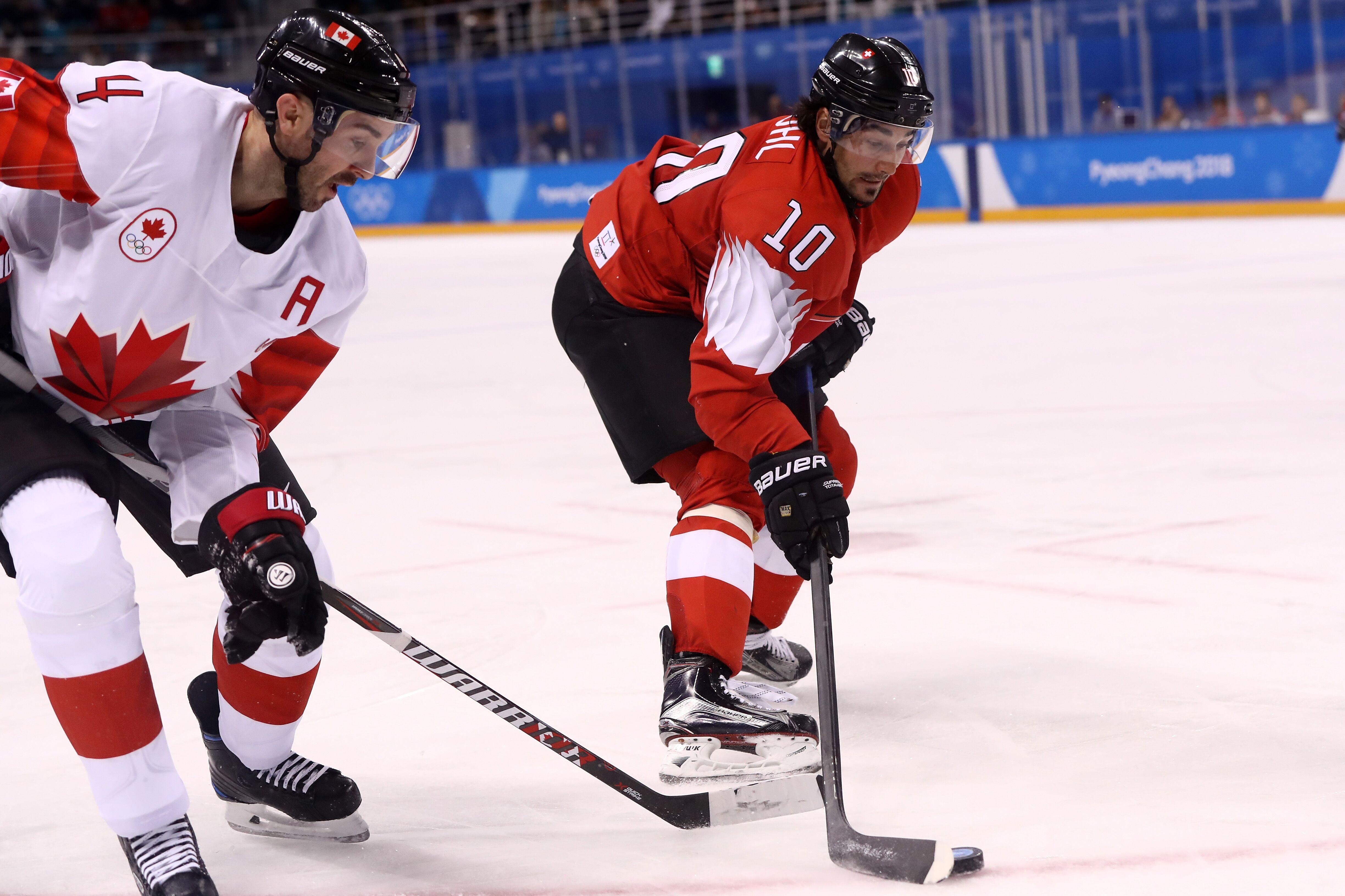 Olympics men's hockey, Canada vs. Switzerland results and ...