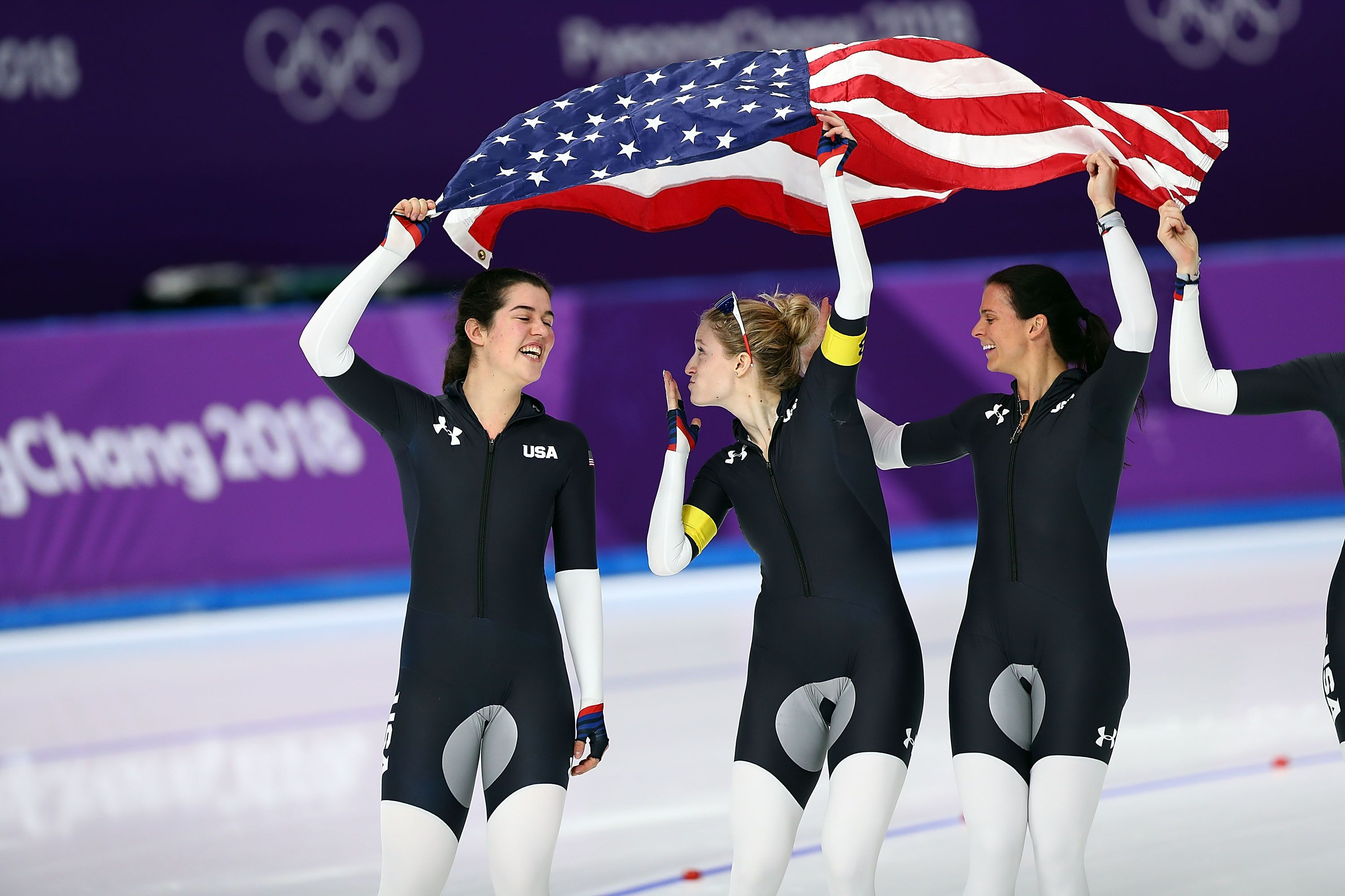 Olympic speedskating: Women's team pursuit finals results ...