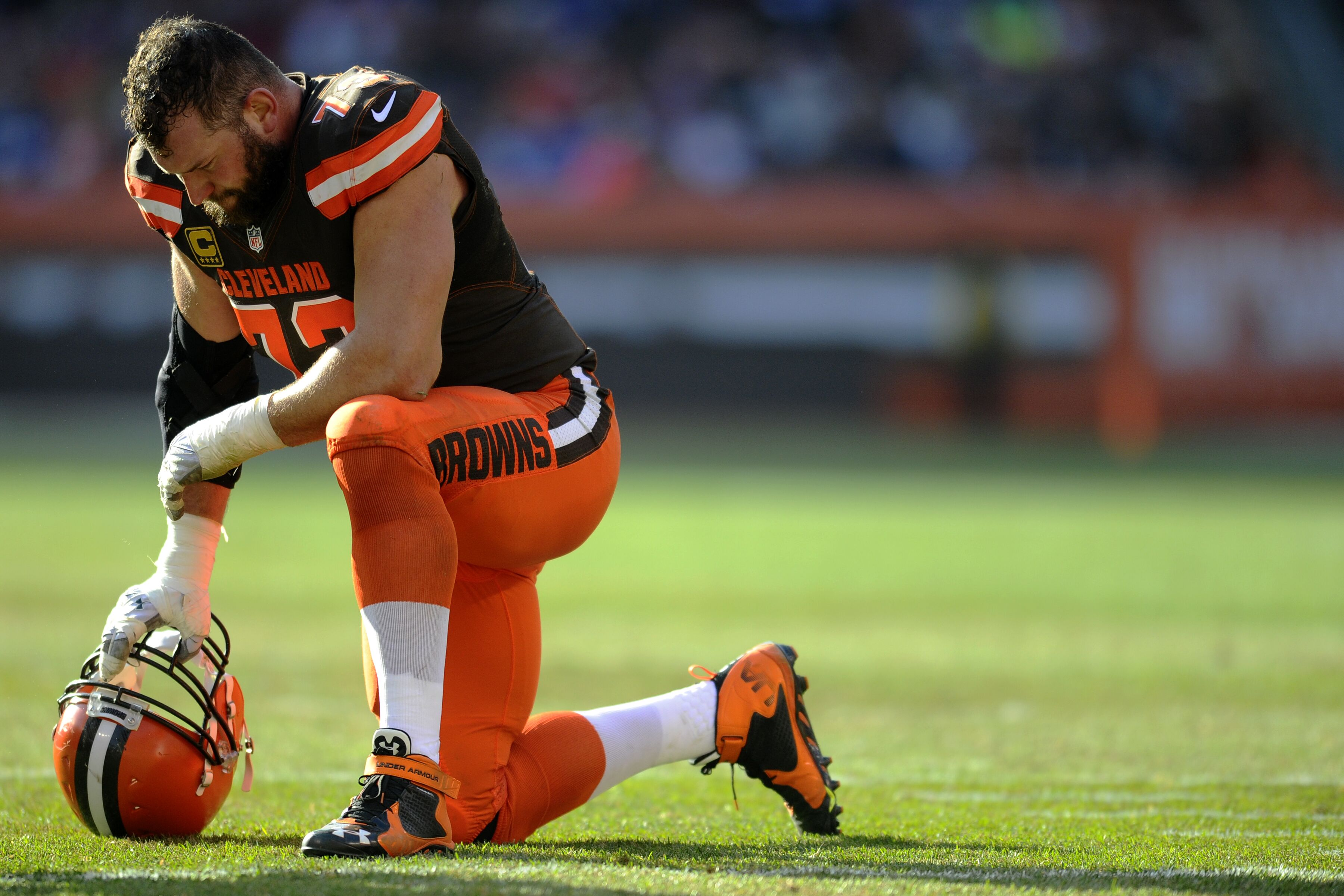 Joe Thomas announces his retirement from Browns