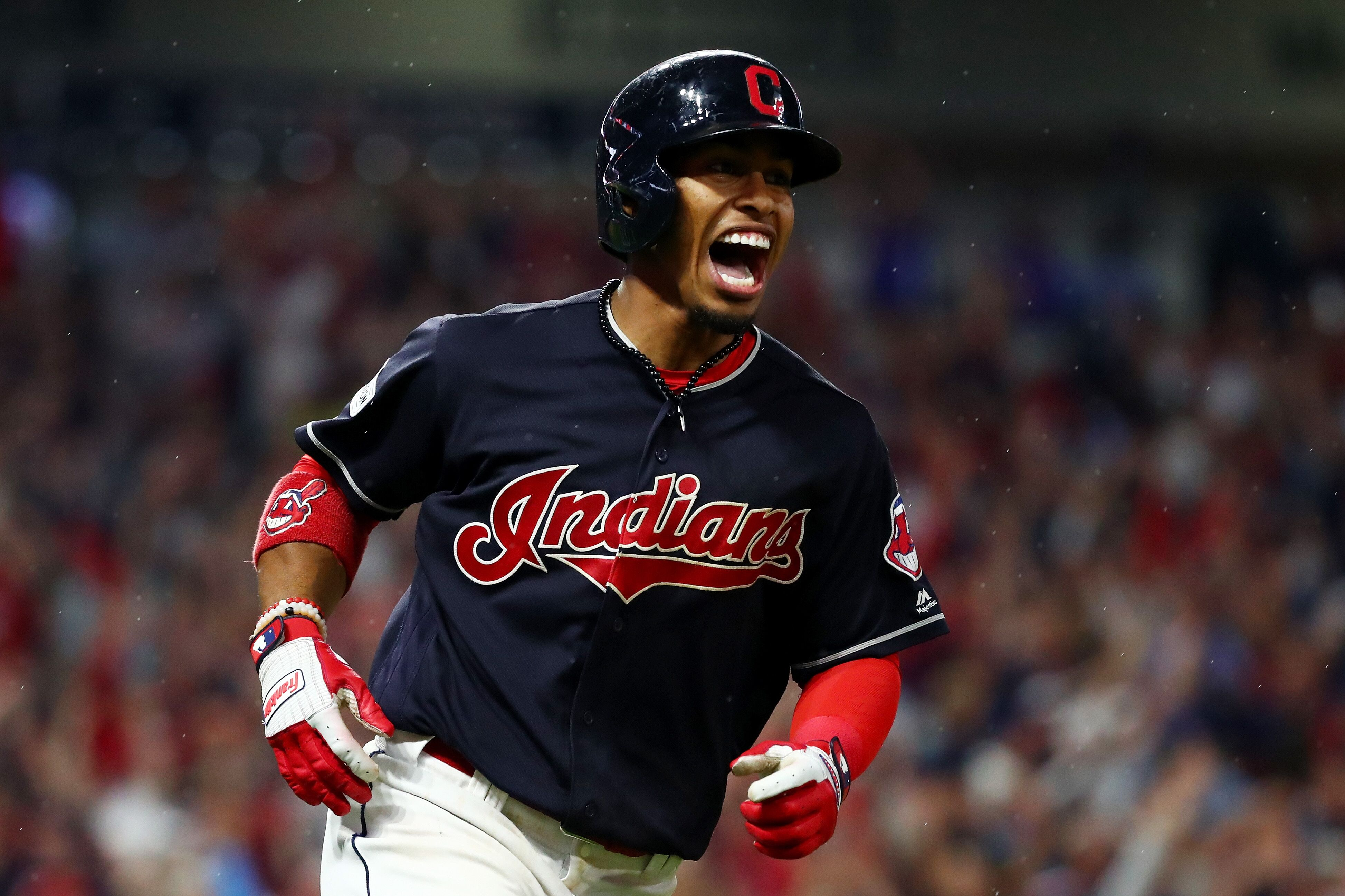 Try to love life as much as Francisco Lindor loves baseball