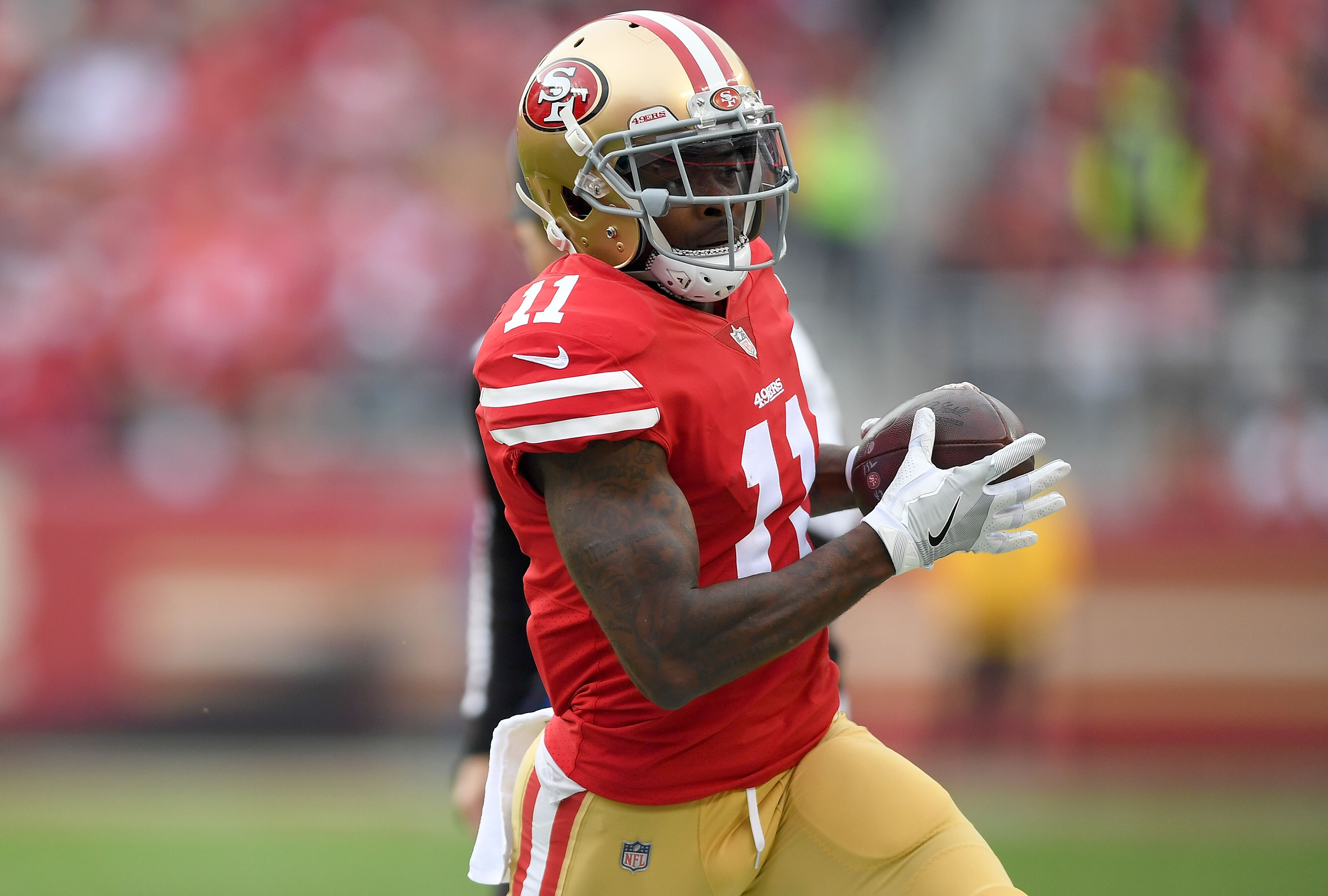 35a9a8ed502 San Francisco 49ers sign Marquise Goodwin to  20M extension